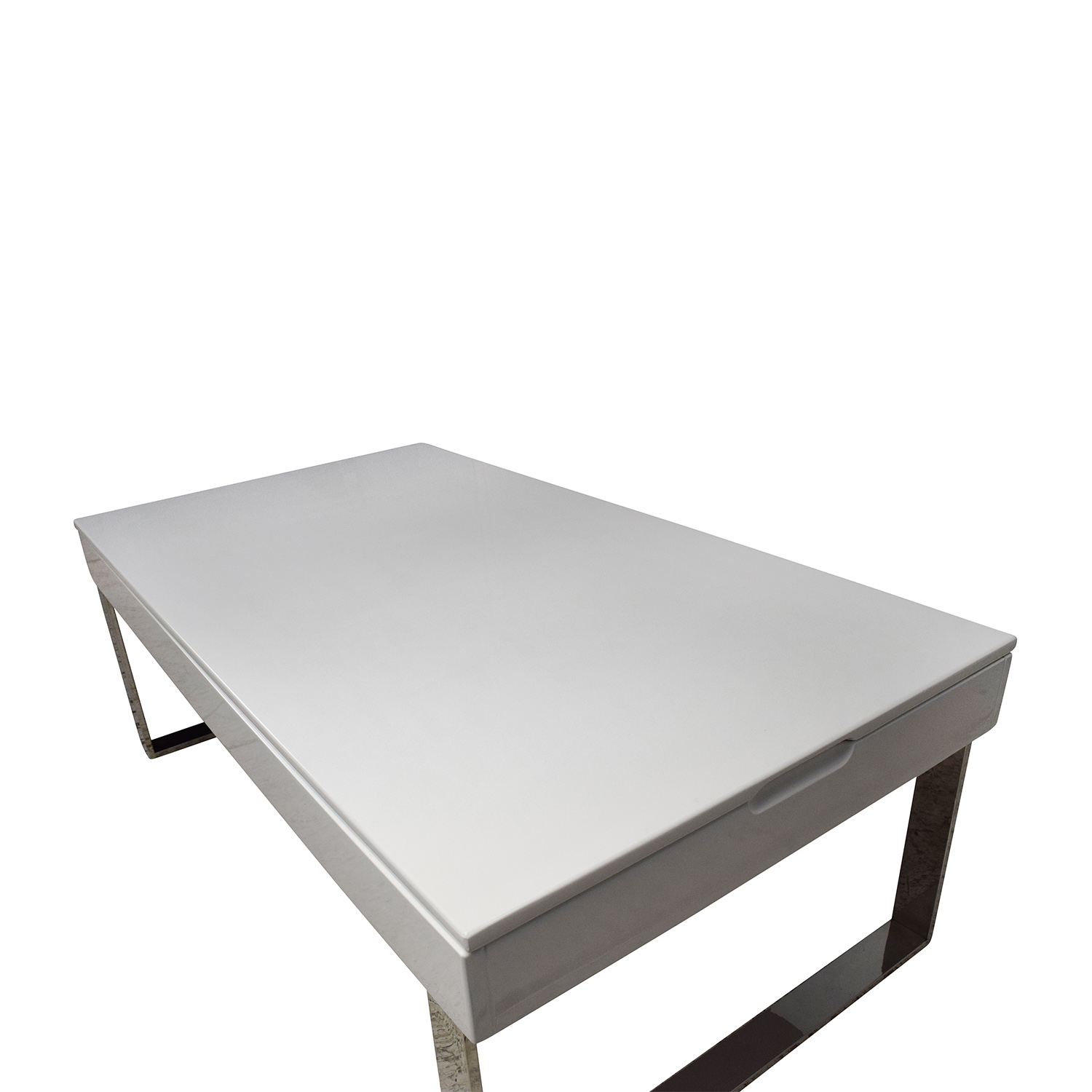 White Lift Top Coffee Tables: Halmstad Modern White Lift-Top Coffee Table / Tables