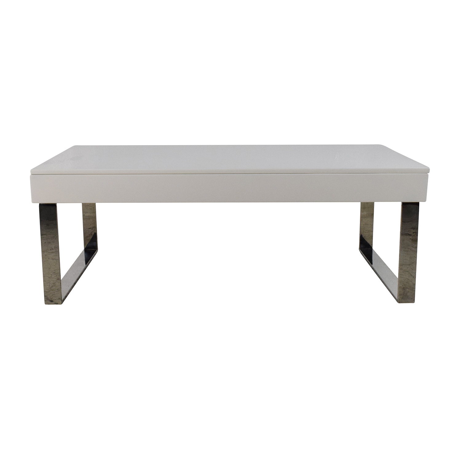 buy Halmstad Modern White Lift-Top Coffee Table