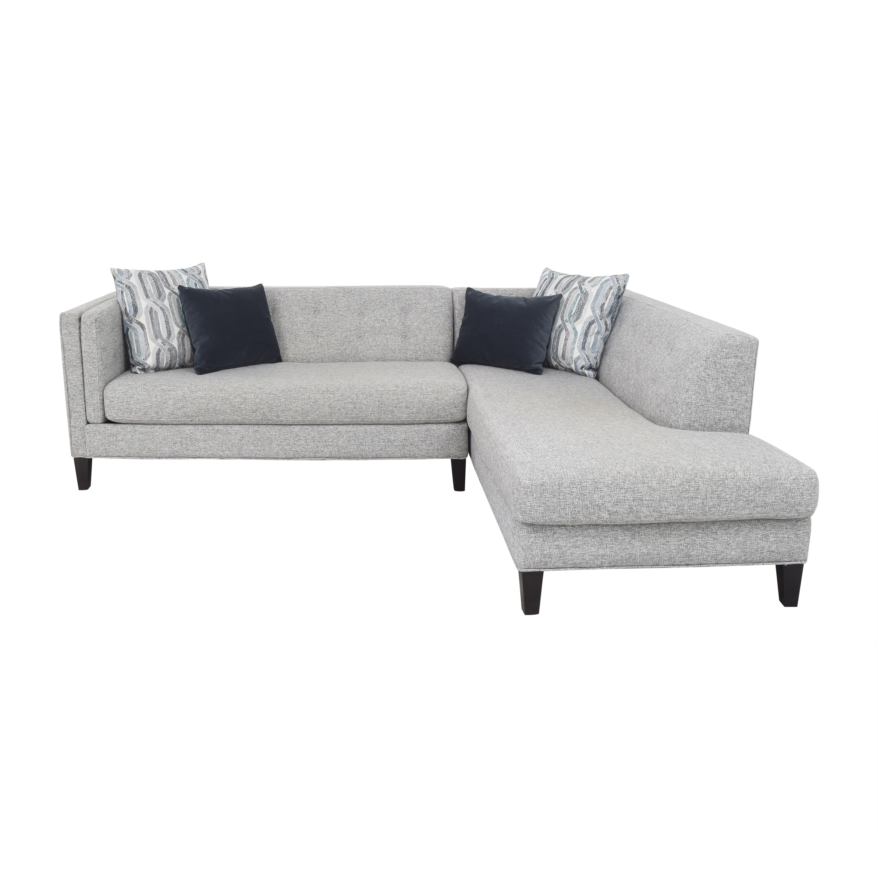 Raymour & Flanigan Raymour & Flanigan Ackland Chaise Sectional Sofas