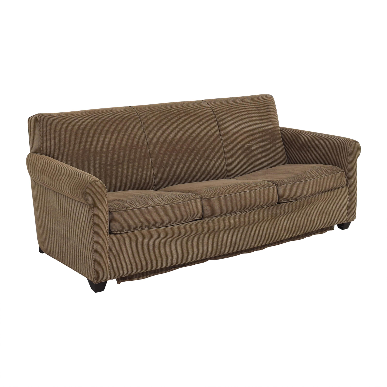 shop Crate & Barrel Cameron Queen-Sized Sleeper Sofa Crate & Barrel Sofas