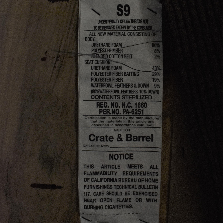 Crate & Barrel Crate & Barrel Cameron Queen-Sized Sleeper Sofa pa