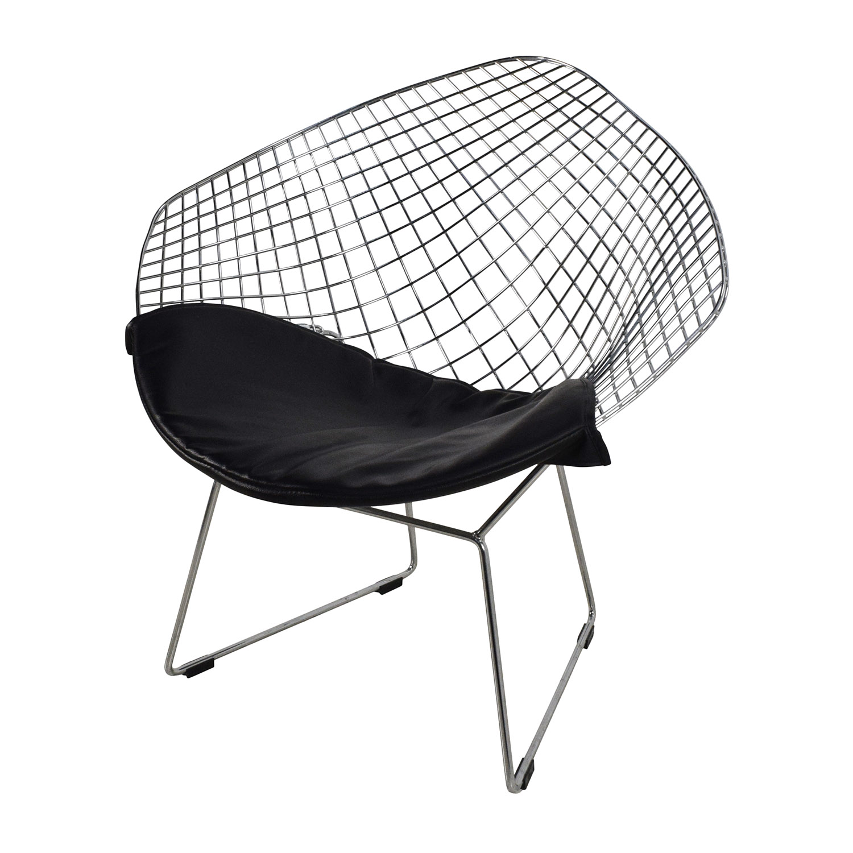 40 Off Herman Miller Herman Miller Wire Seat With Black