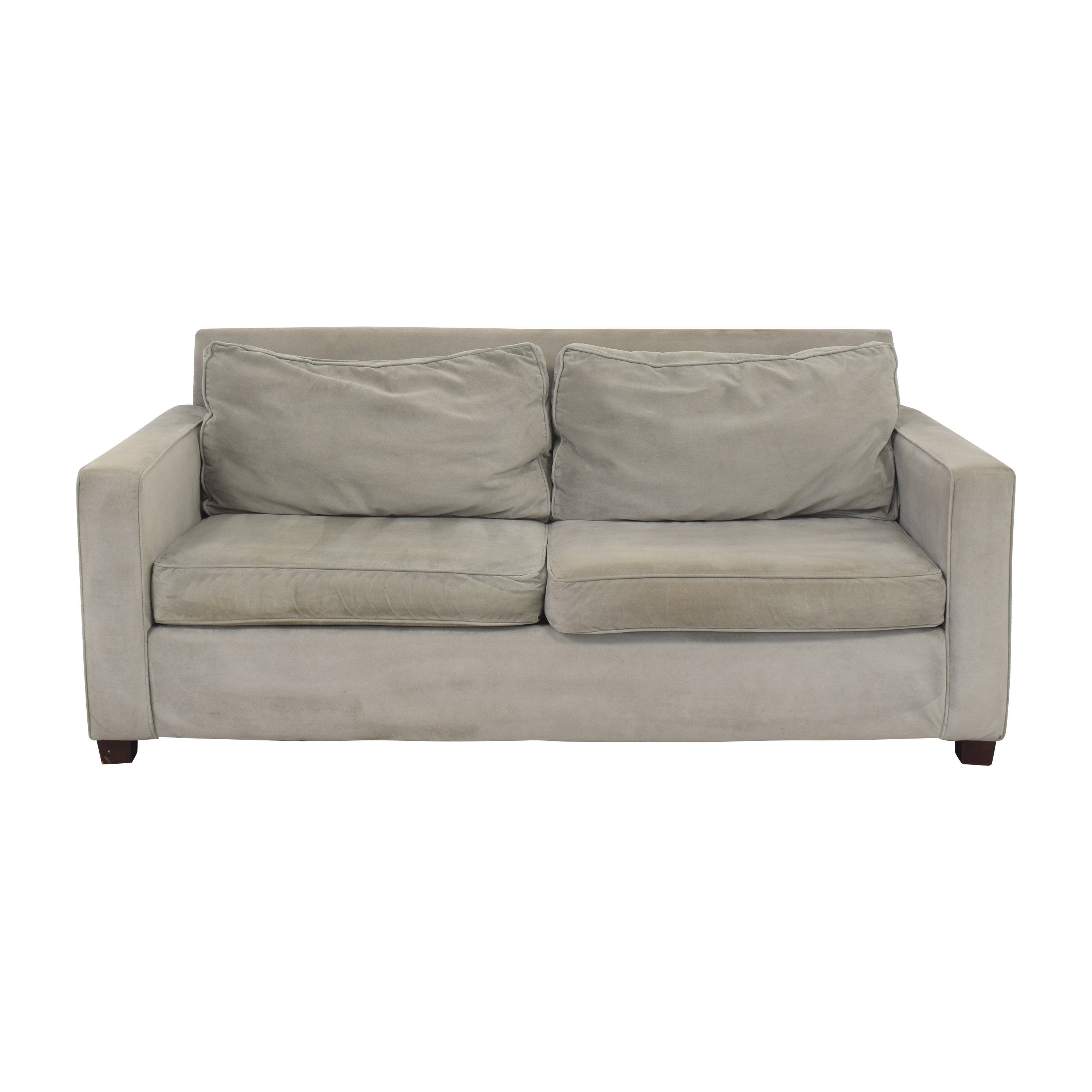 West Elm West Elm Modern Two Cushion Sofa