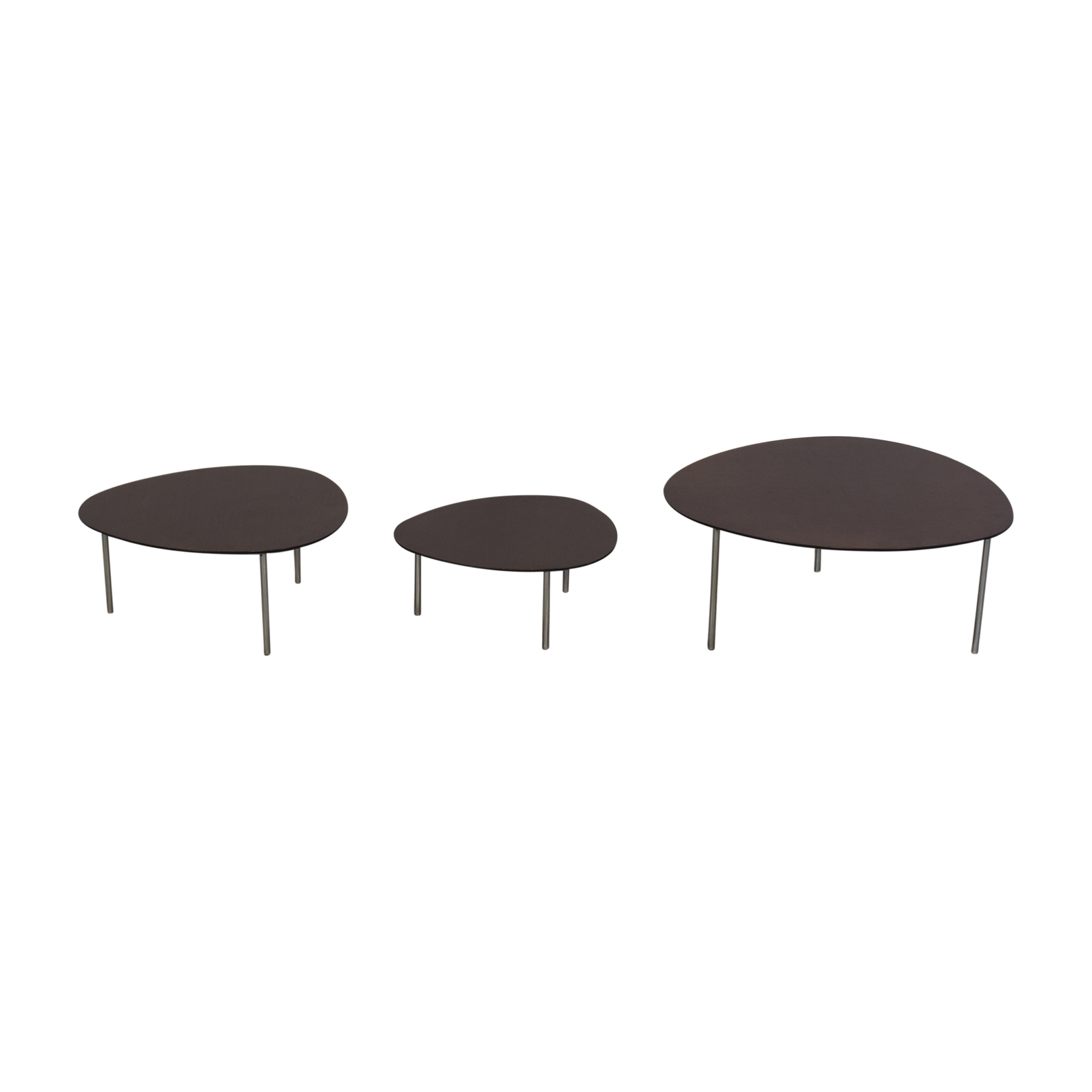 shop Design Within Reach Stua Eclipse Nesting Tables Design Within Reach Tables