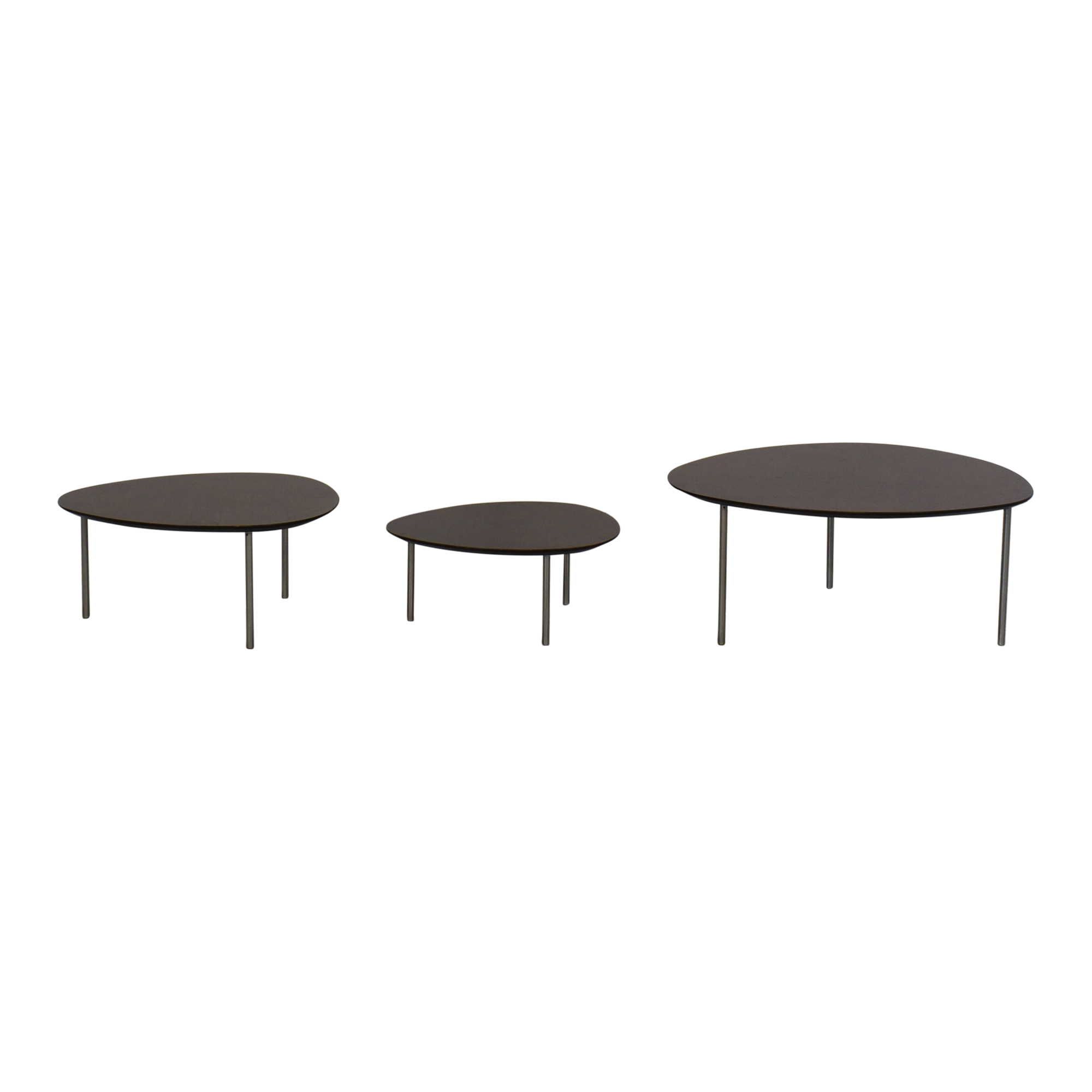 buy Design Within Reach Stua Eclipse Nesting Tables Design Within Reach Coffee Tables