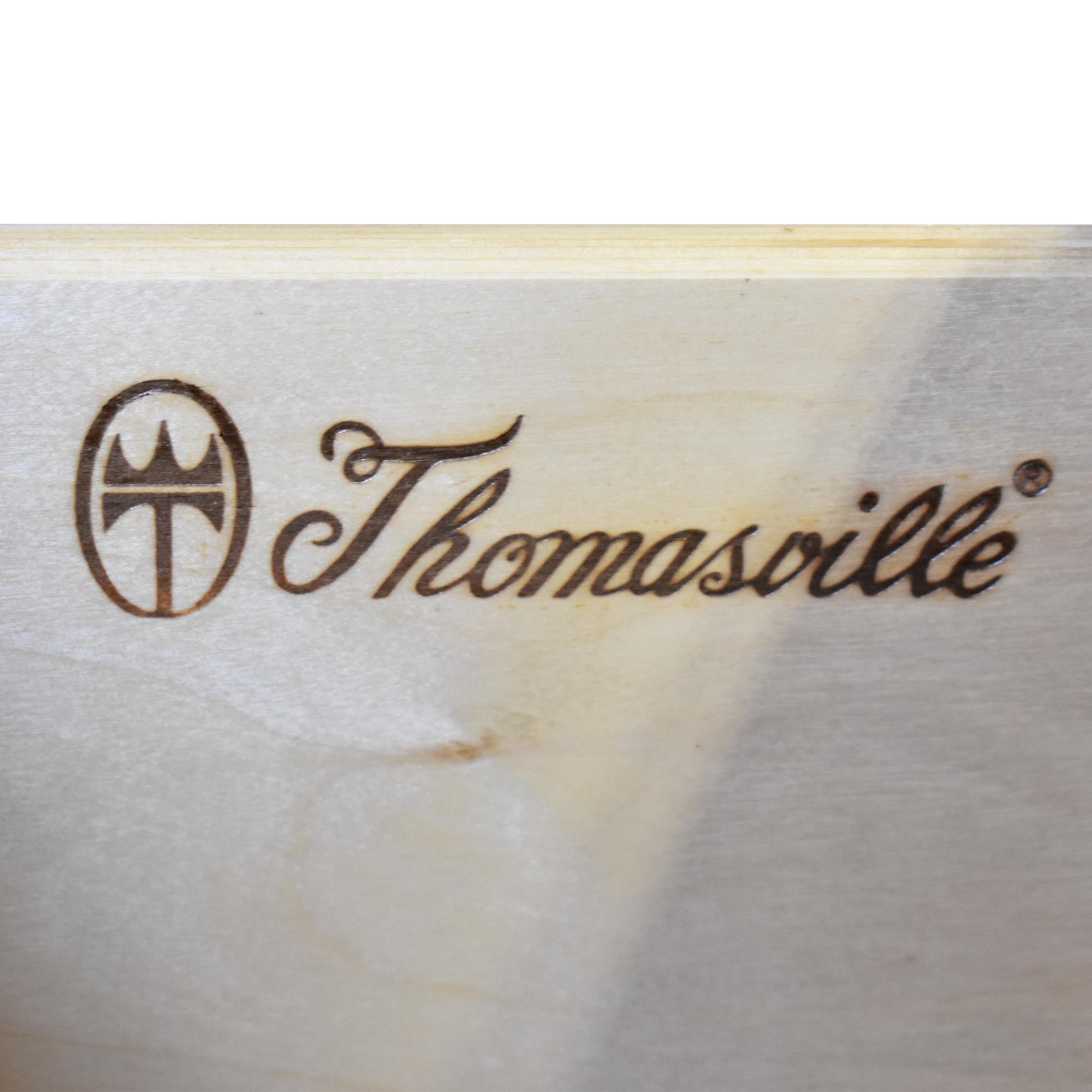 Thomasville Three Drawer Night Stand Thomasville