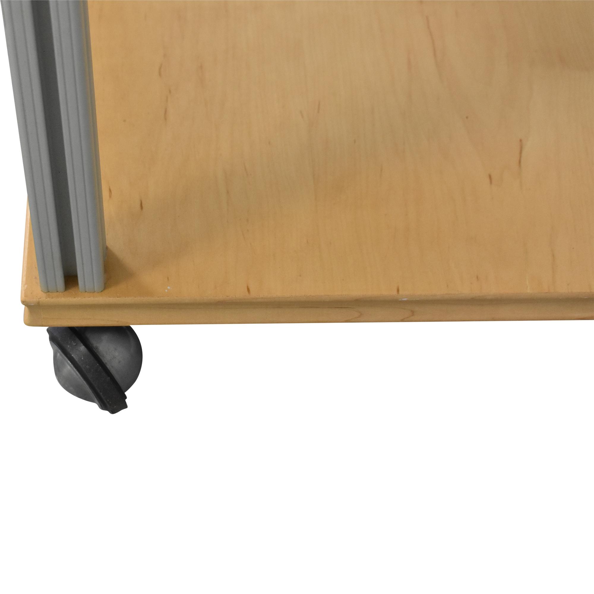 Salamander Designs Synergy Shelving Unit on Castors / Tables