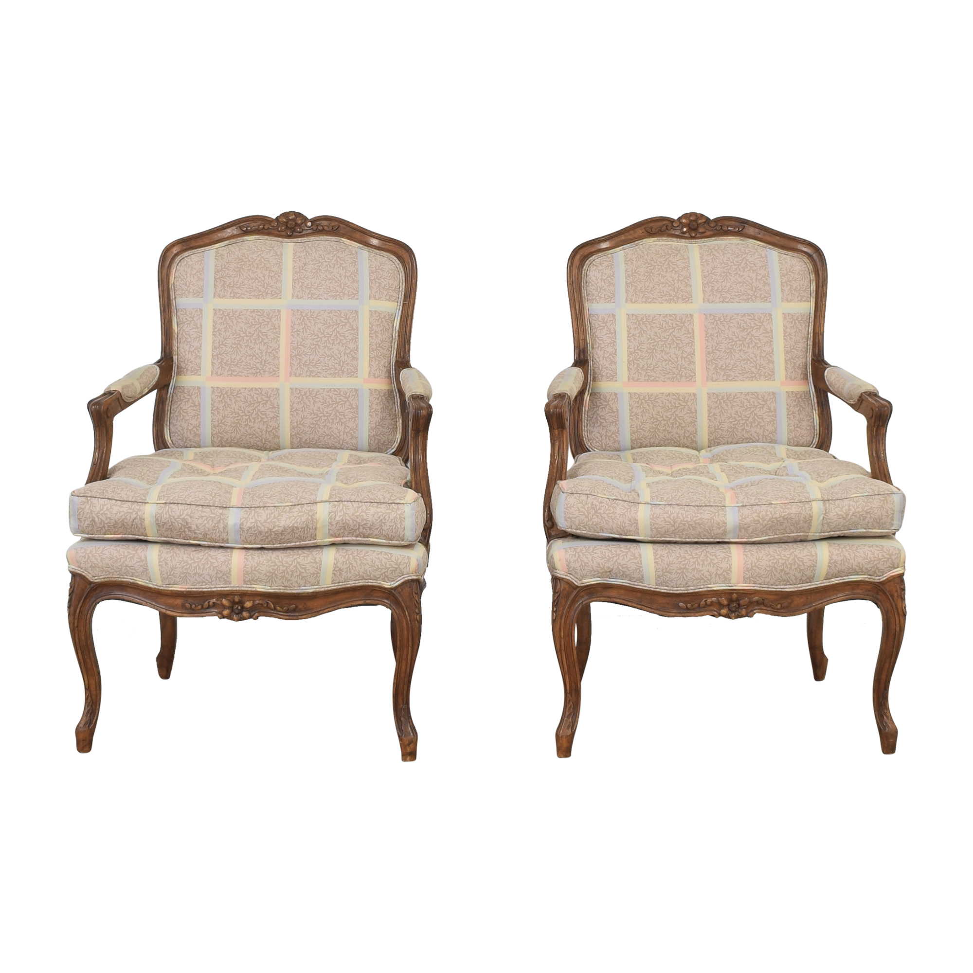 Upholstered Accent Chairs second hand
