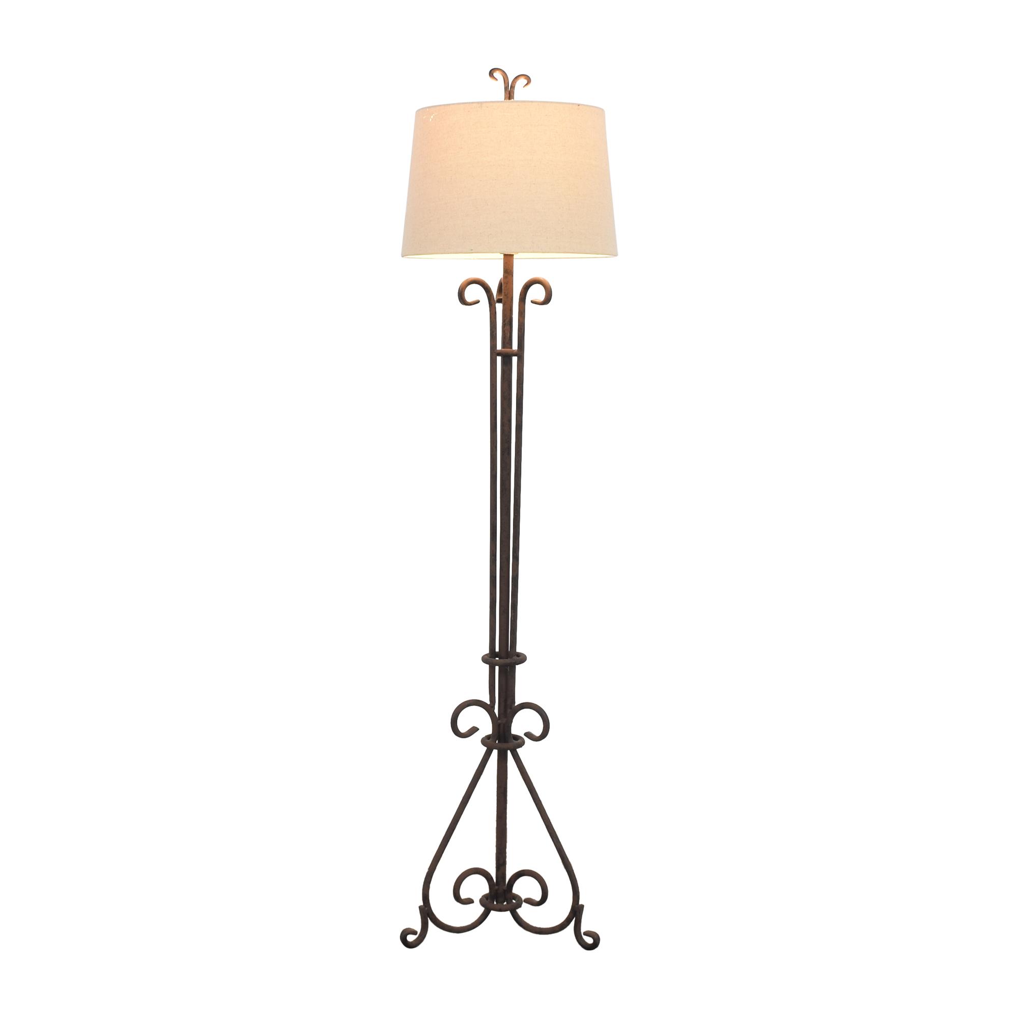 Rustic Floor Lamp discount