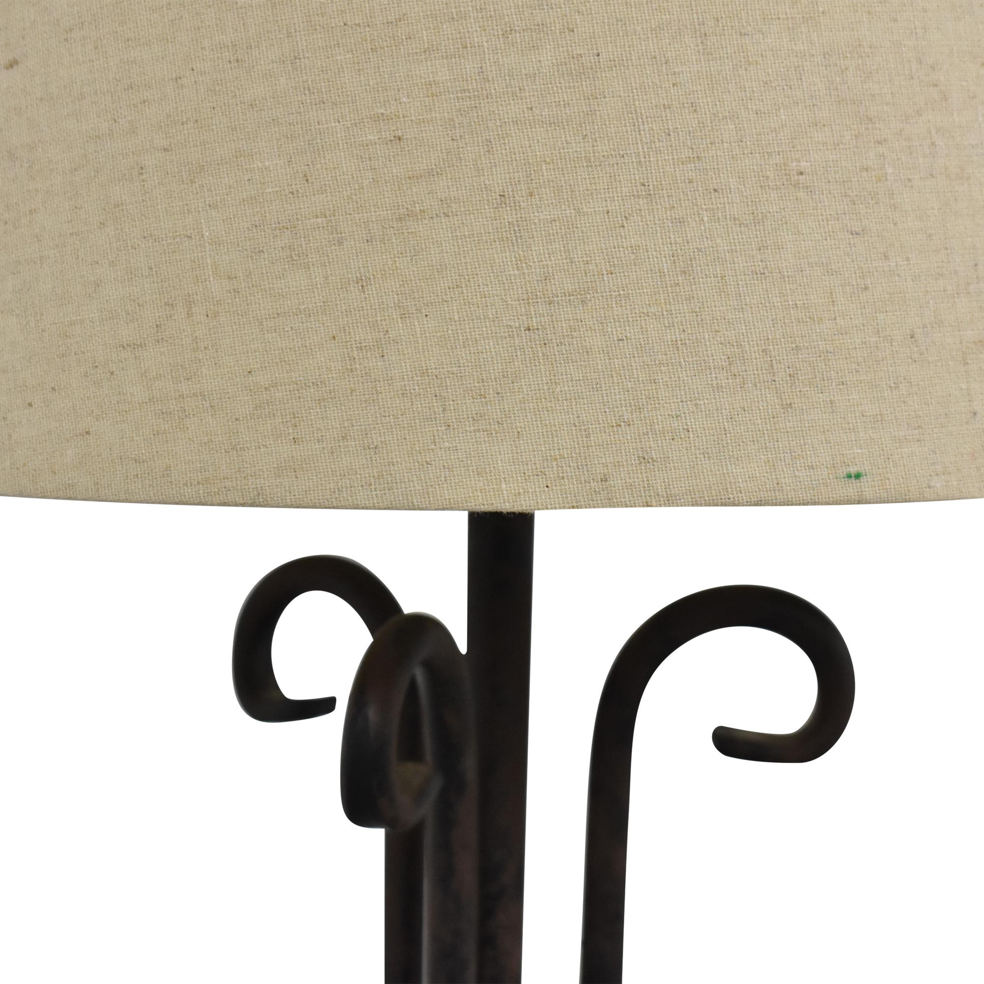 Rustic Floor Lamp nyc
