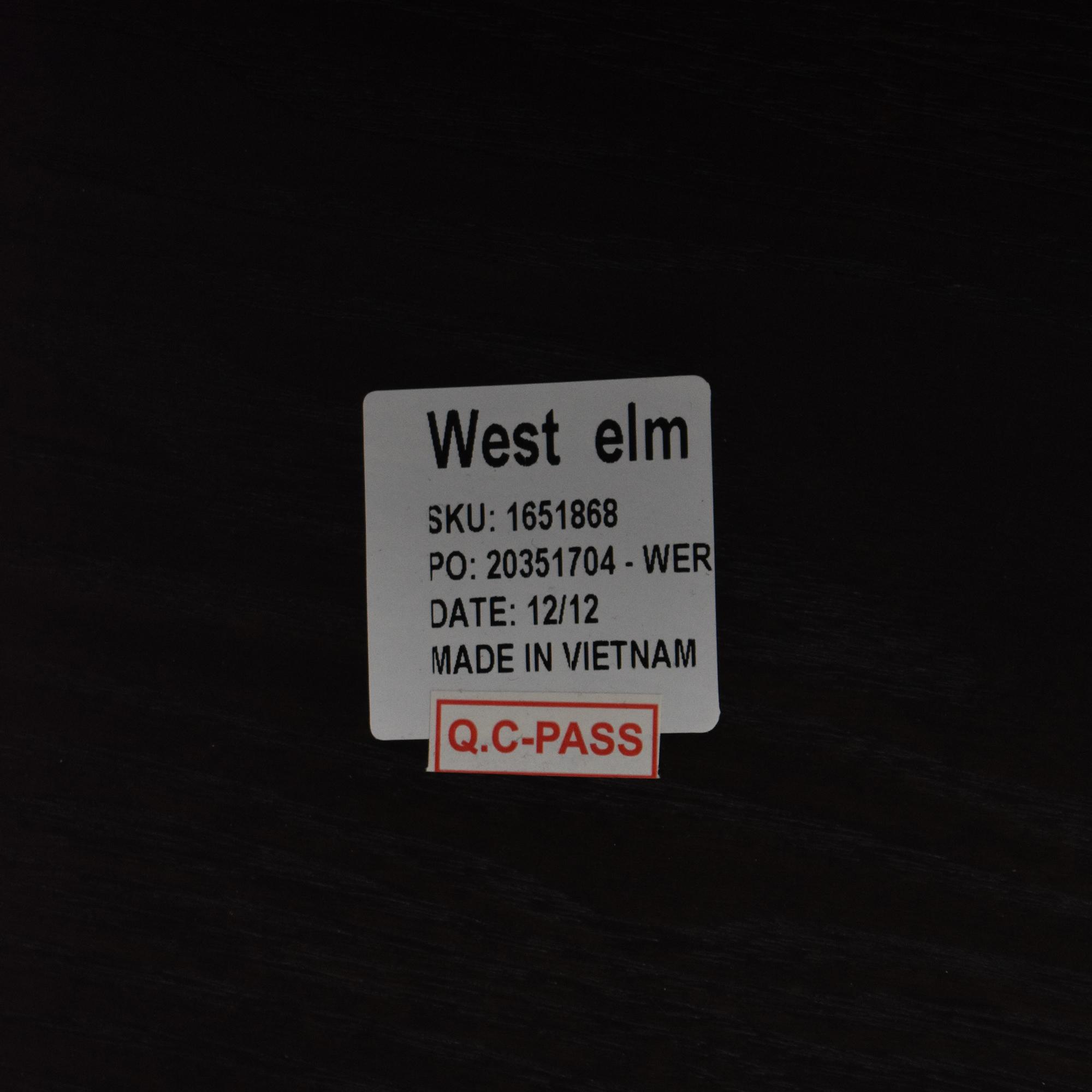 West Elm West Elm Terra Dining Bench for sale