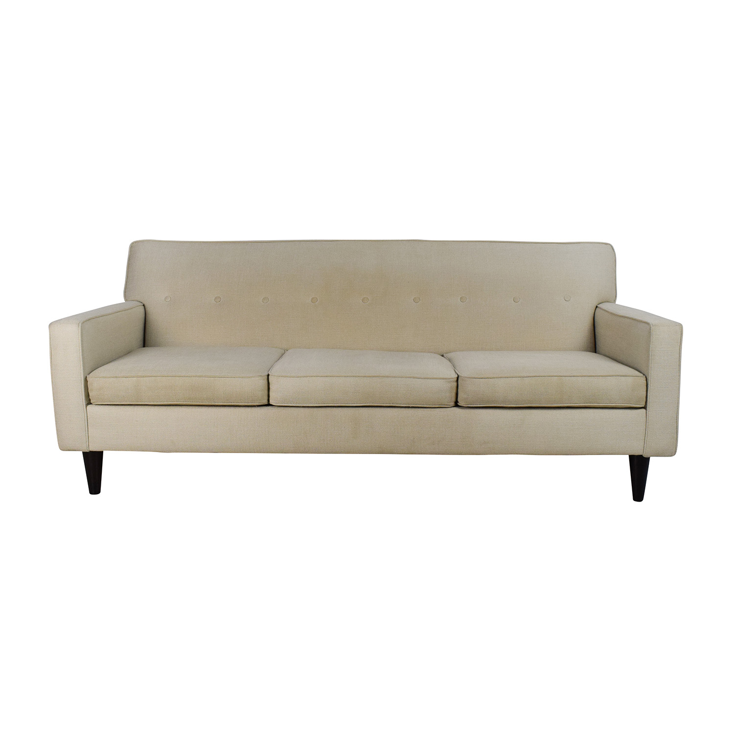 41% OFF Inmod Inmod Bjorg Tufted Light Grey Sofabed Sofas
