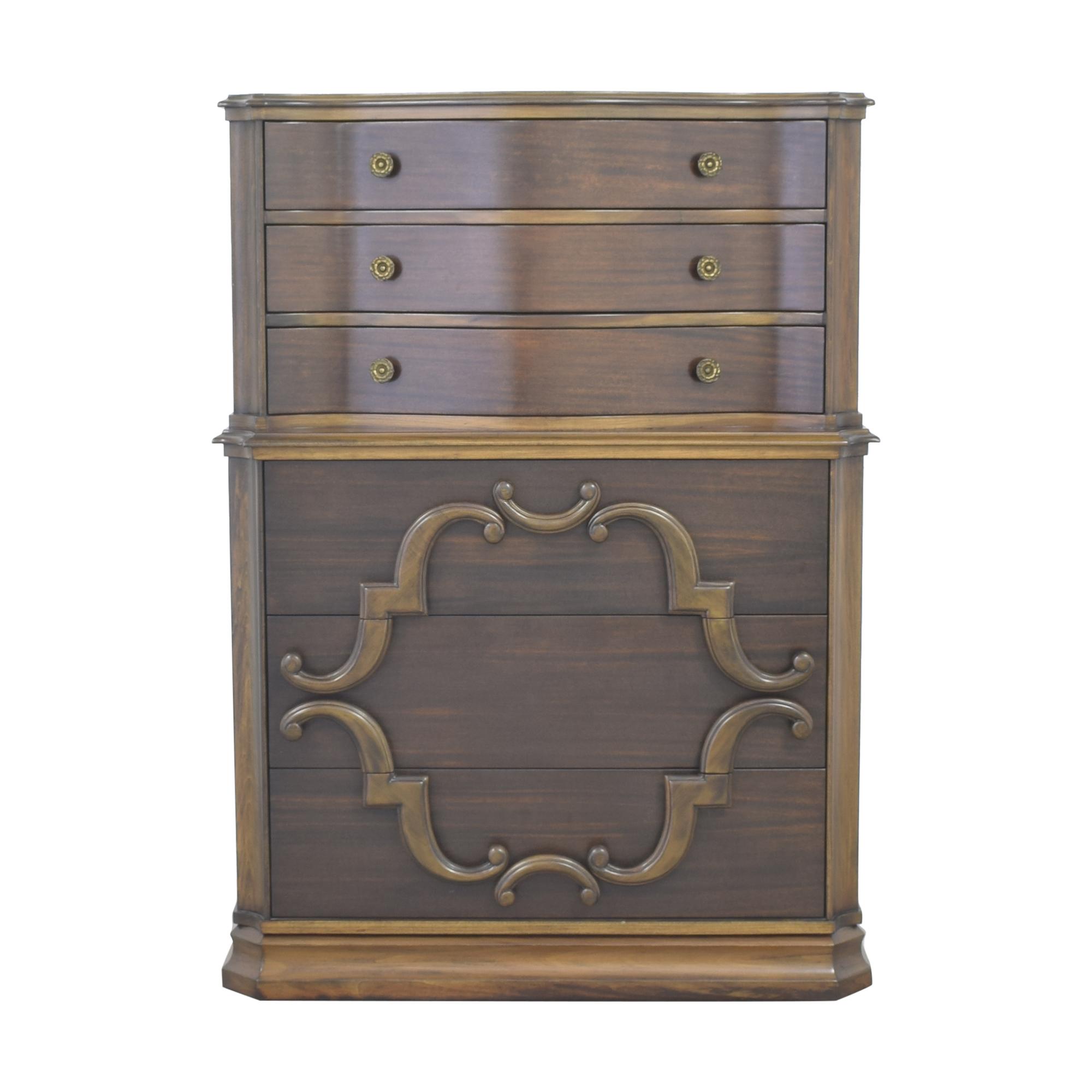 Upright Six Drawer Dresser second hand