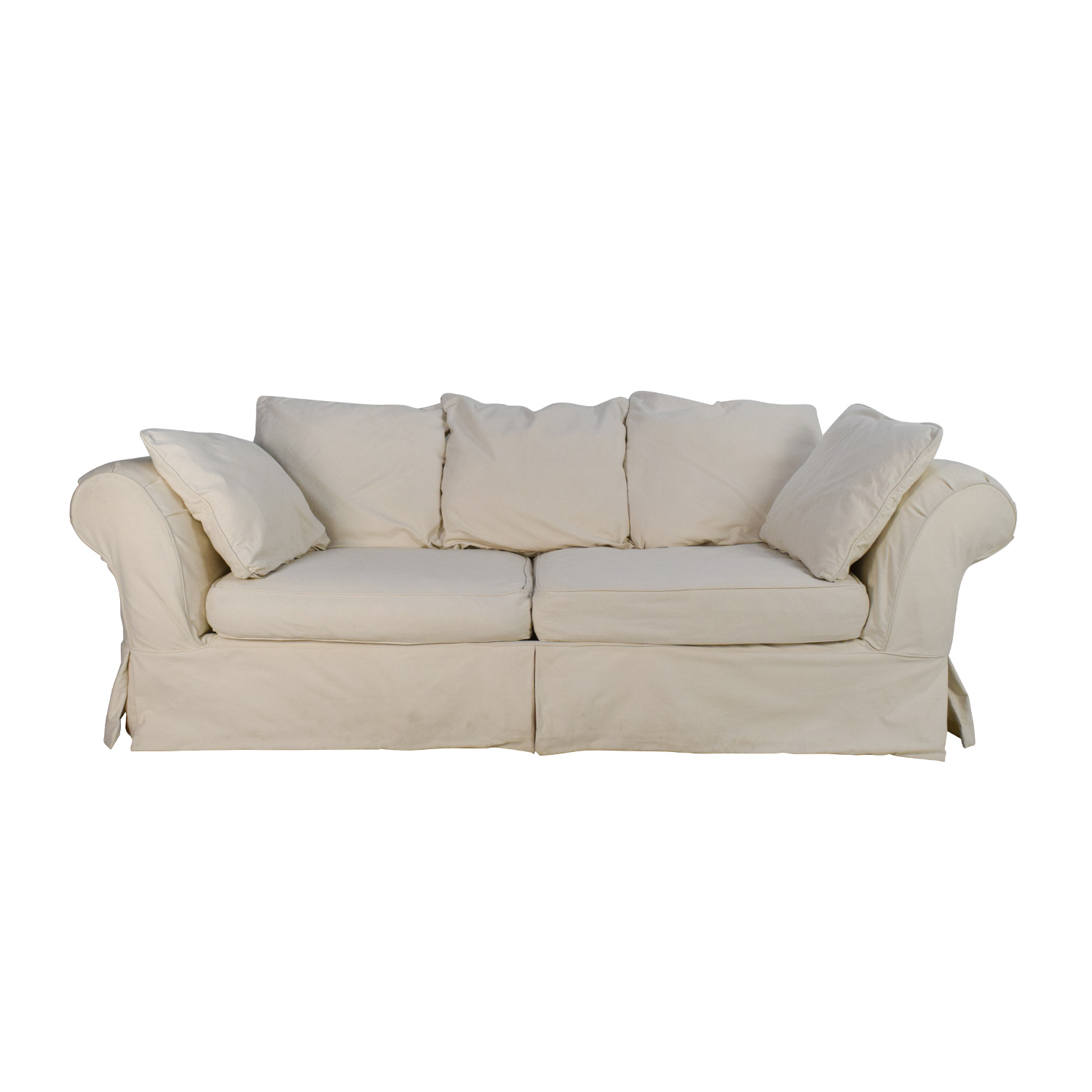 Jennifer Convertibles Linda Slipcovered Sofa Jennifer Convertibles