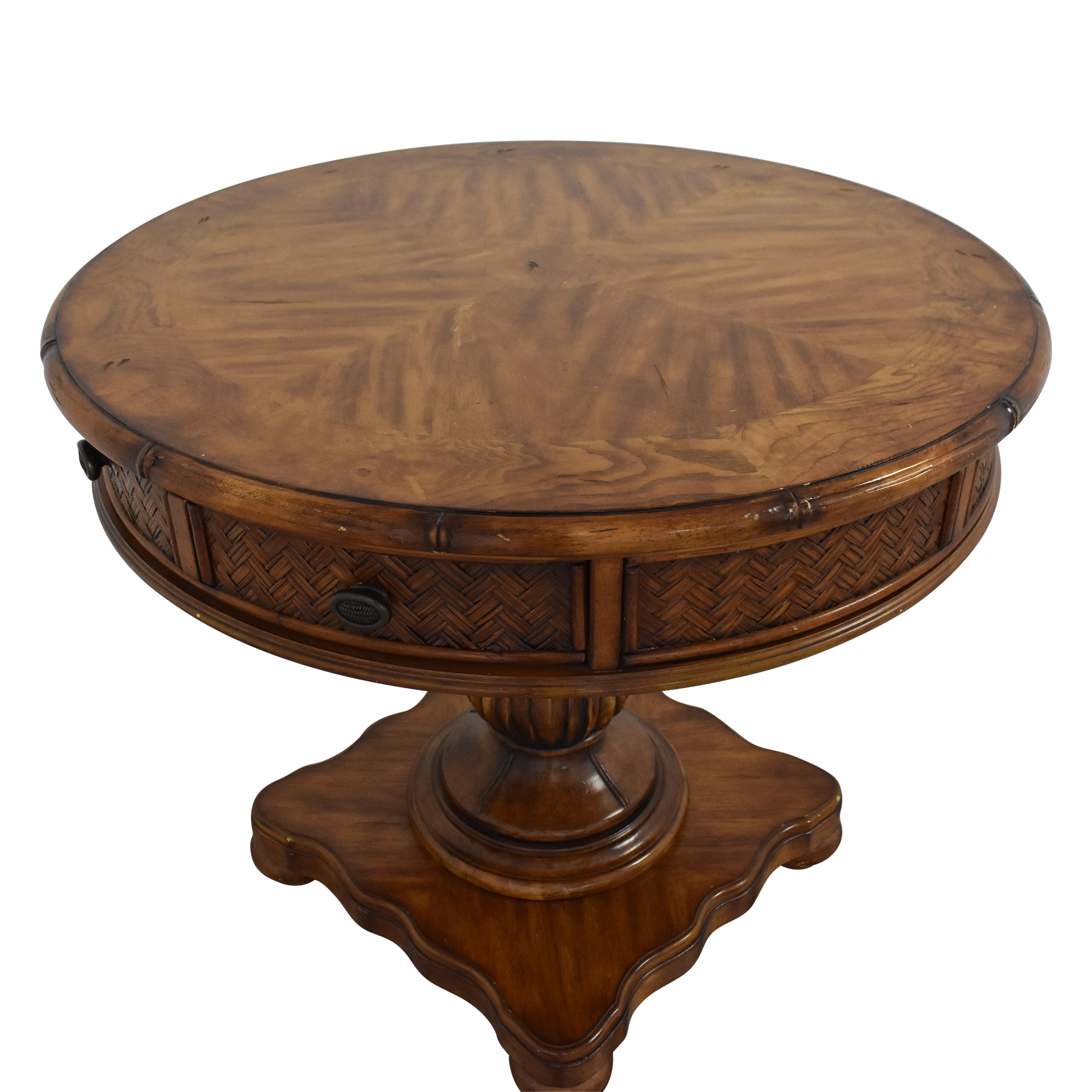 Schnadig Schnadig Round Accent Table nj