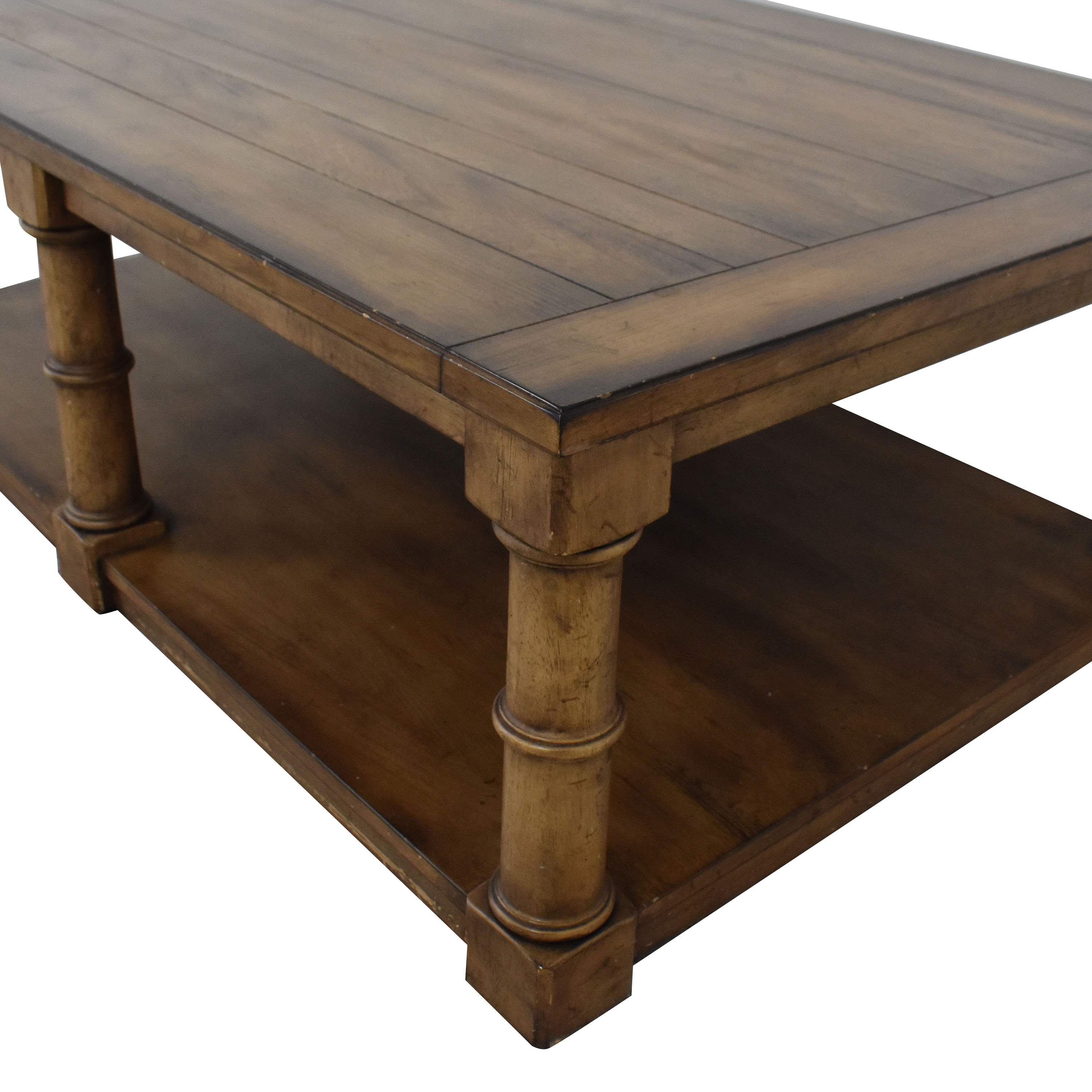 shop Ethan Allen Storage Coffee Table Ethan Allen