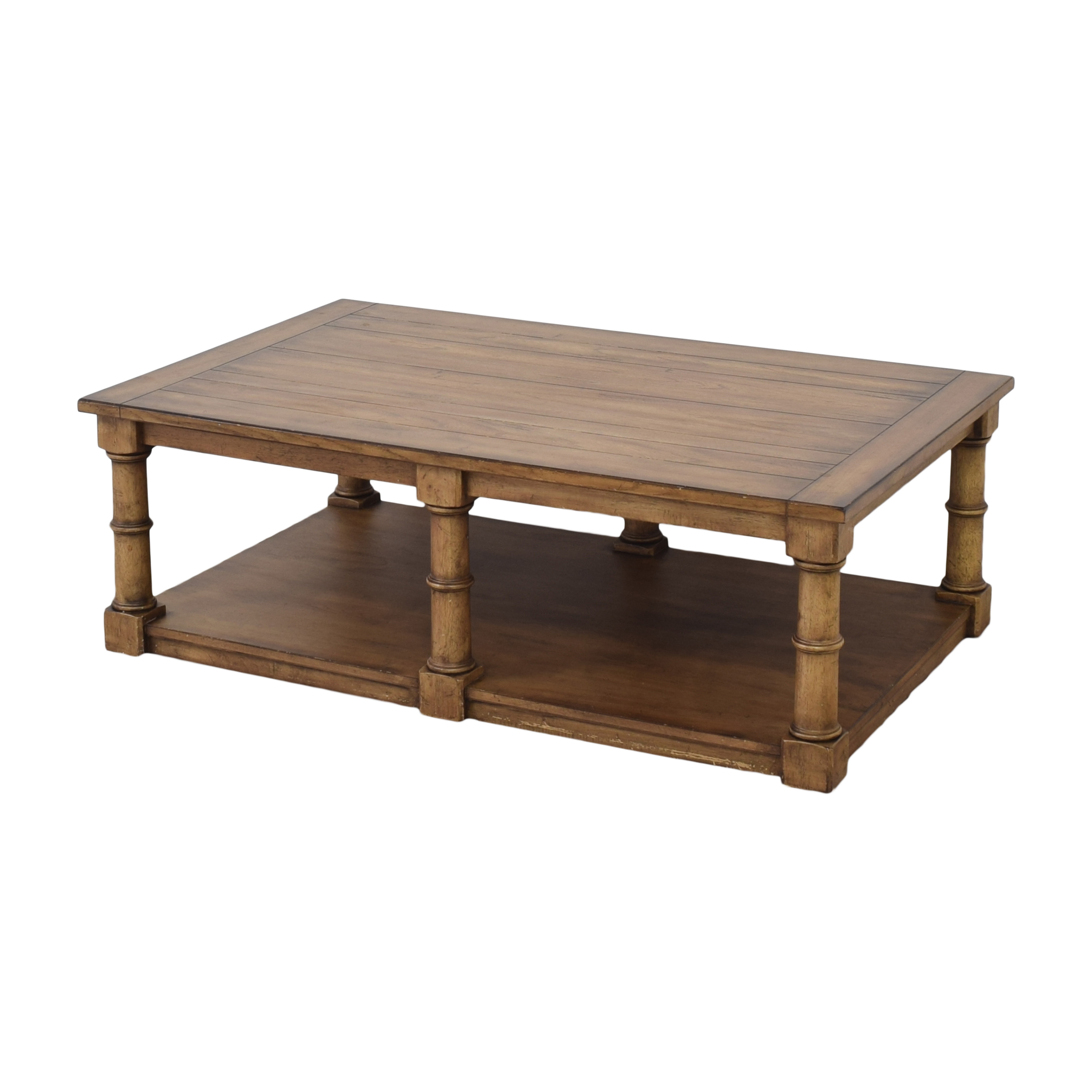 Ethan Allen Ethan Allen Storage Coffee Table discount