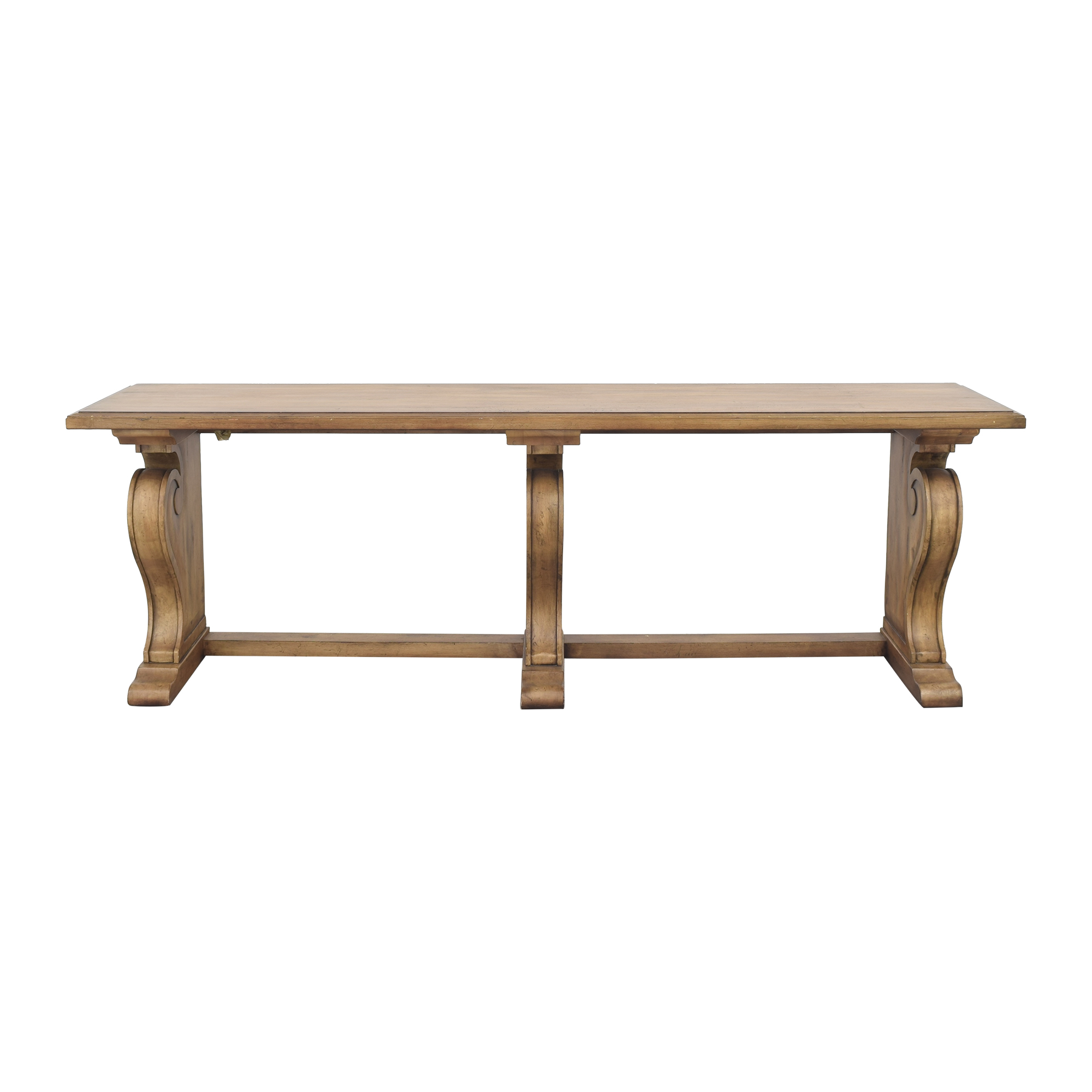 shop Ethan Allen Wayfarer Library Table Ethan Allen Accent Tables