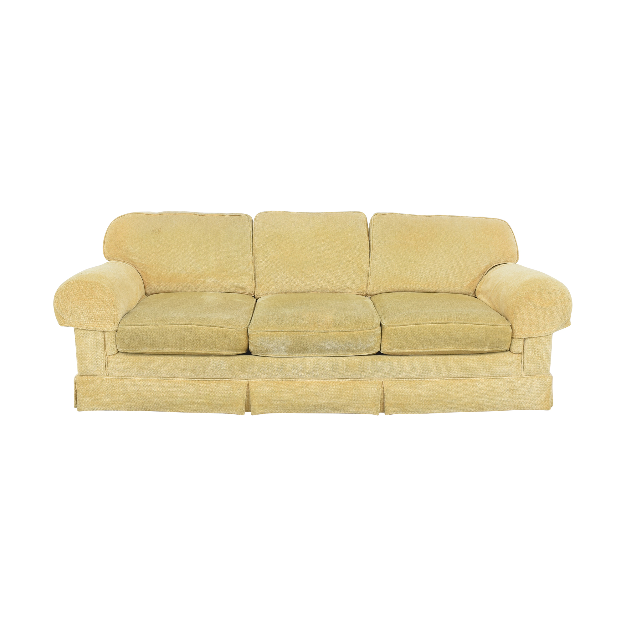 Three Seat Skirted Sofa nj