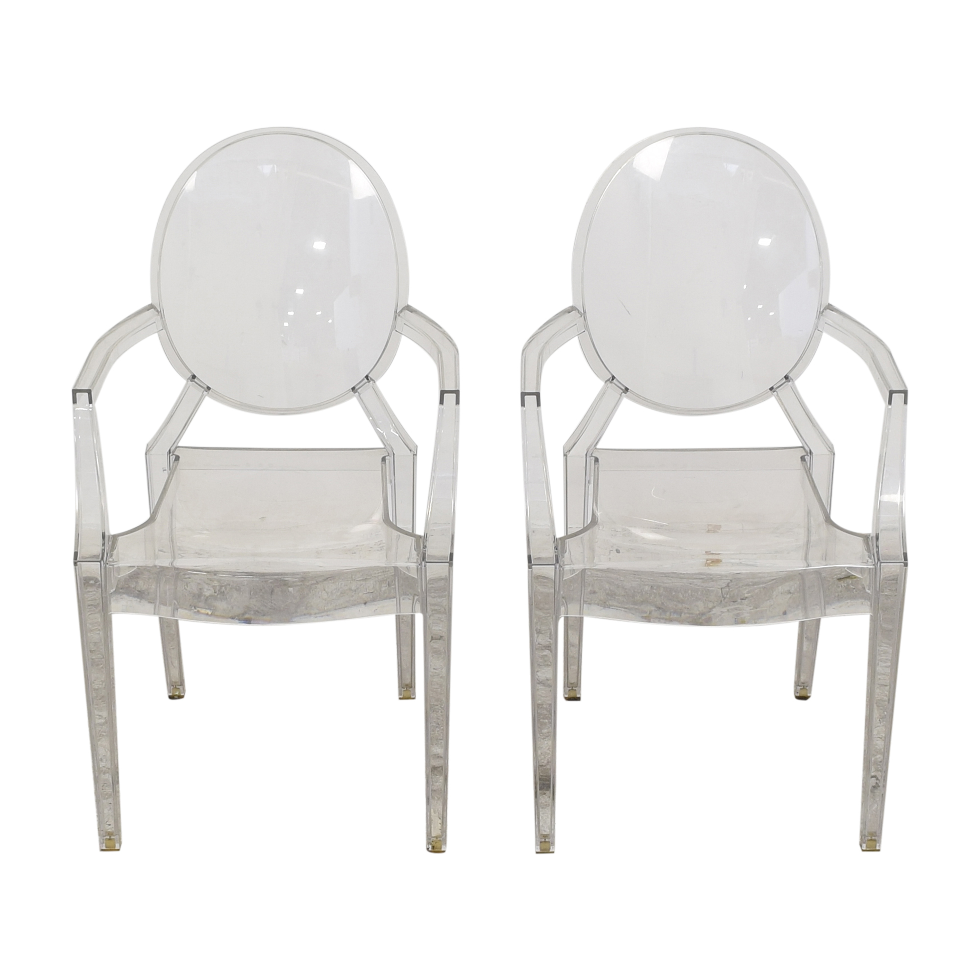 shop Kartell Louis Ghost Chairs by Phillipe Starck Kartell Chairs