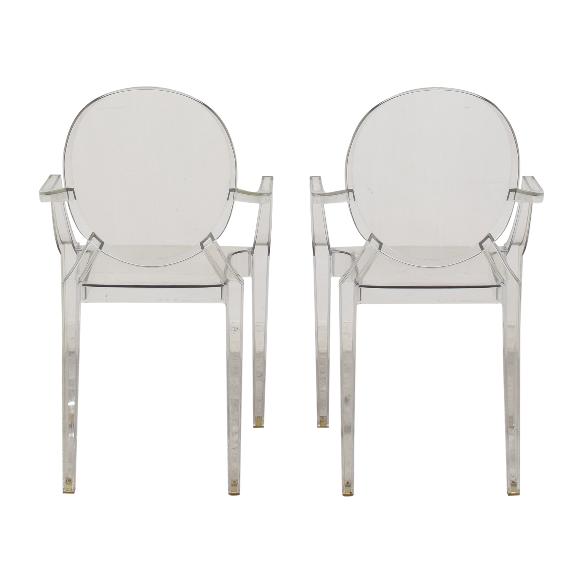 Kartell Kartell Louis Ghost Chairs by Phillipe Starck ma