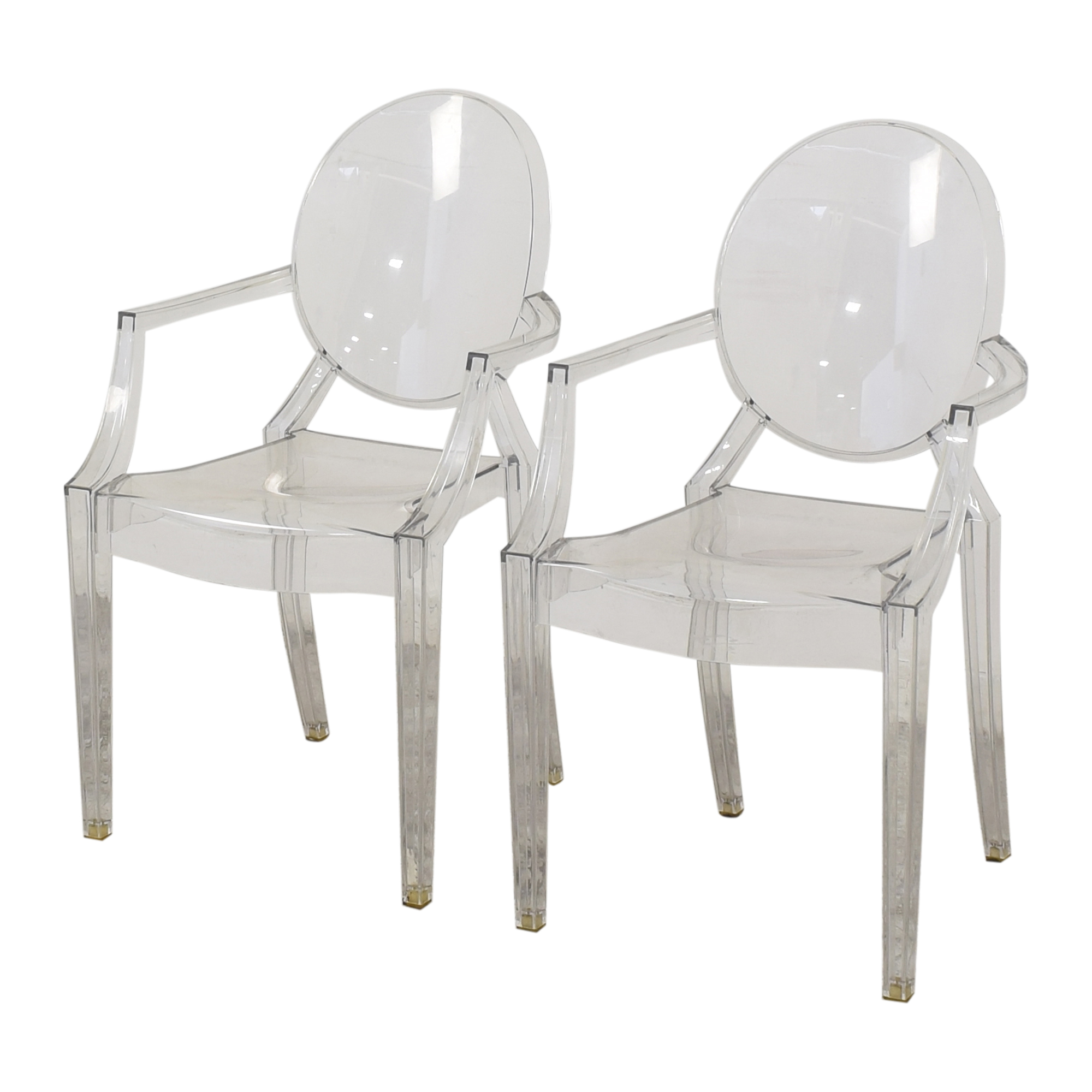 Kartell Louis Ghost Chairs by Phillipe Starck Kartell