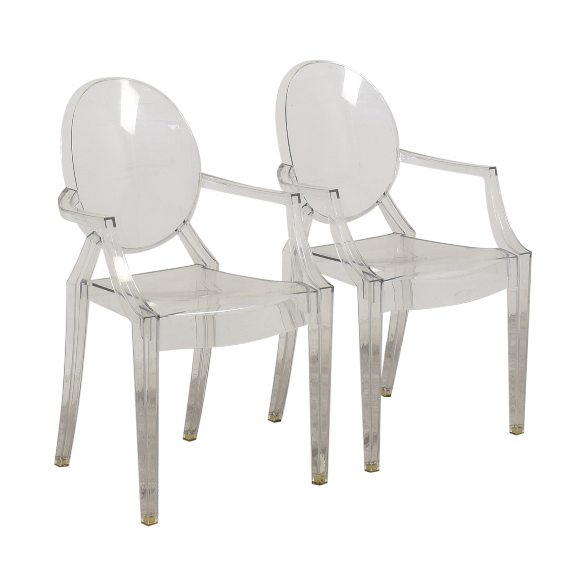 Kartell Louis Ghost Chairs by Phillipe Starck sale