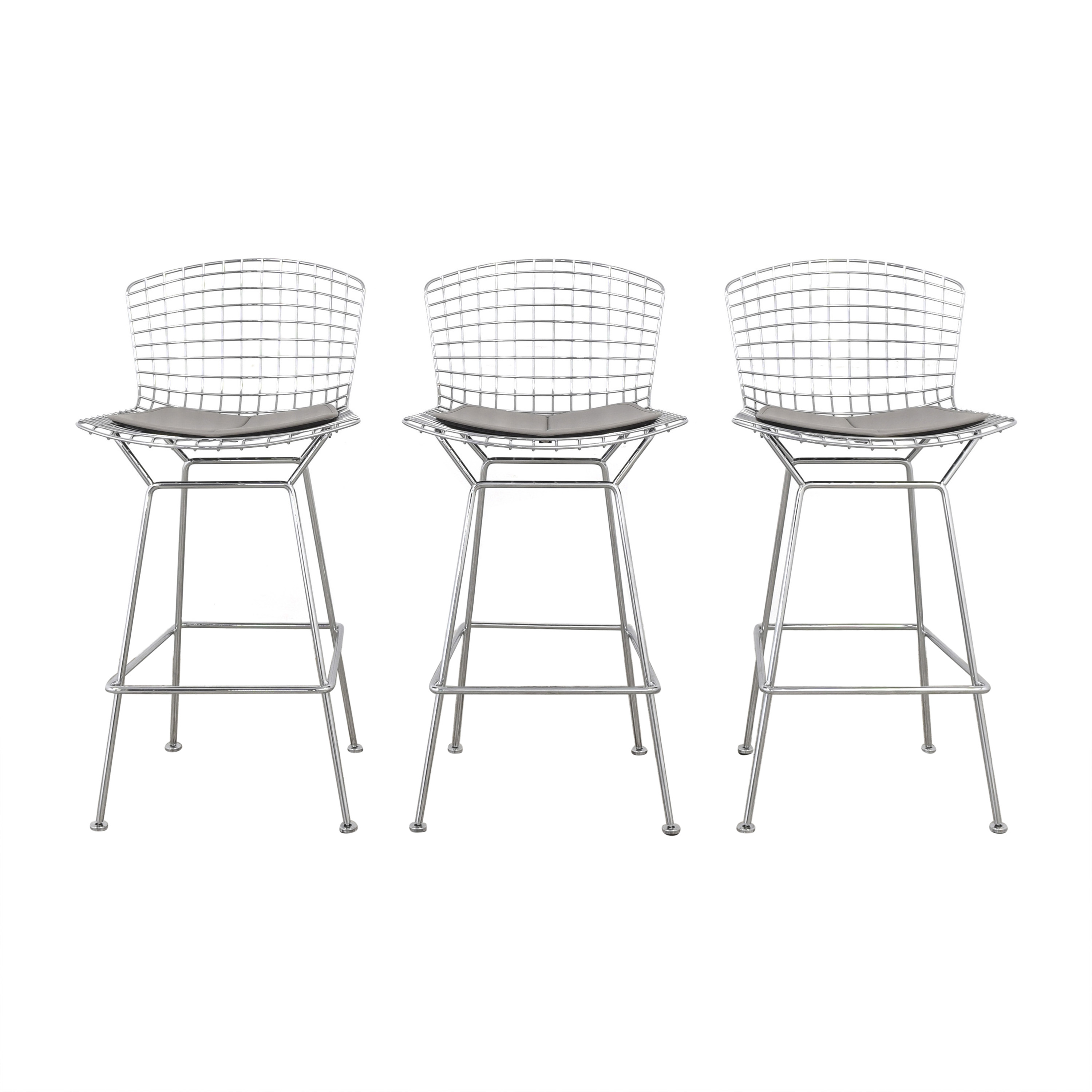 Knoll Knoll Bertoia Stools with Seat Cushions coupon