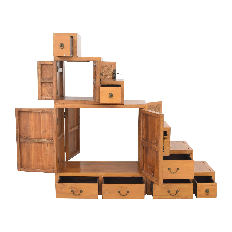 Custom Three Part Cabinet discount