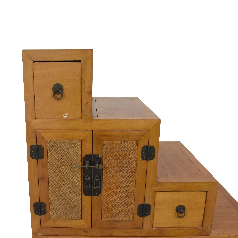 Custom Three Part Cabinet used