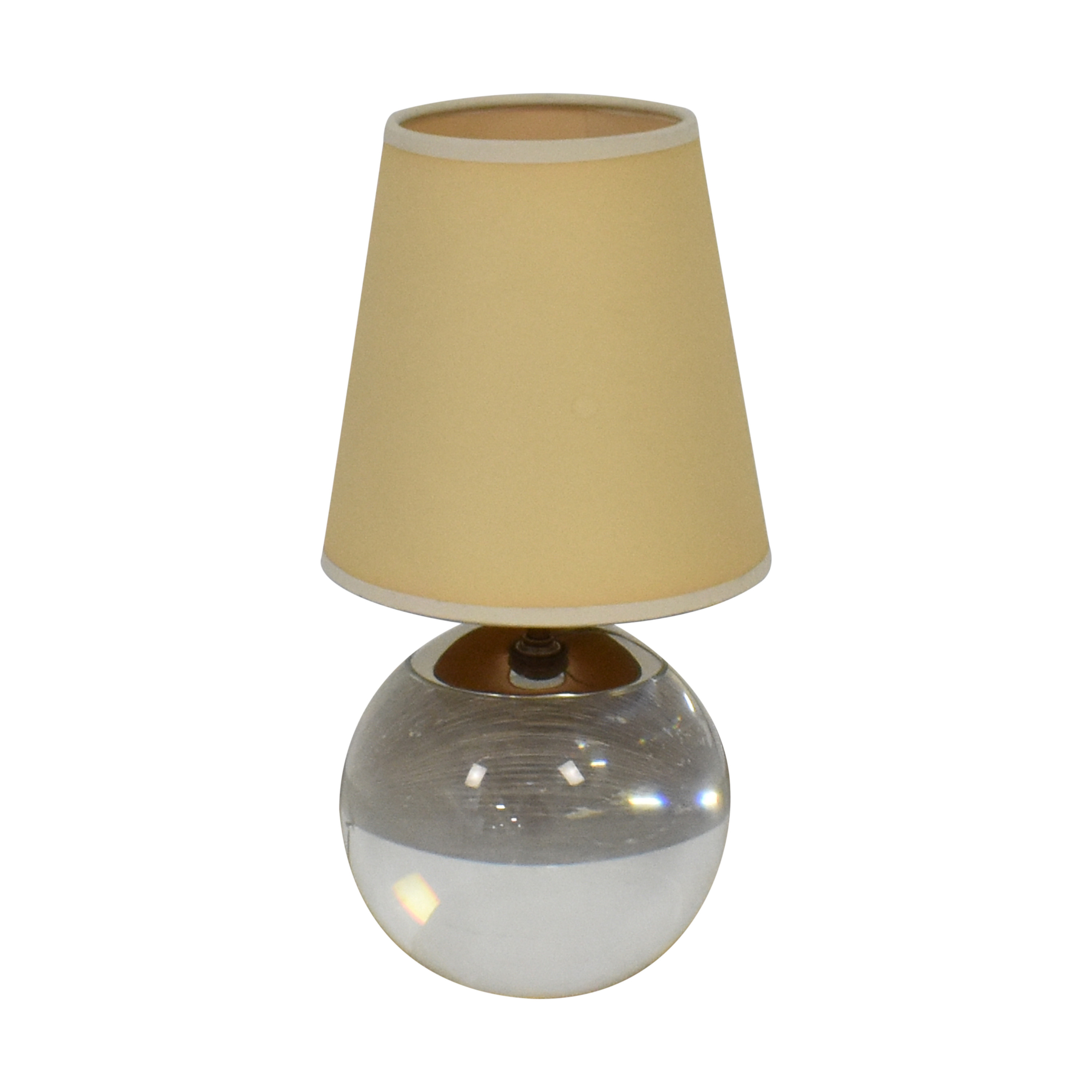 Williams Sonoma Williams Sonoma Round Base Table Lamp nj