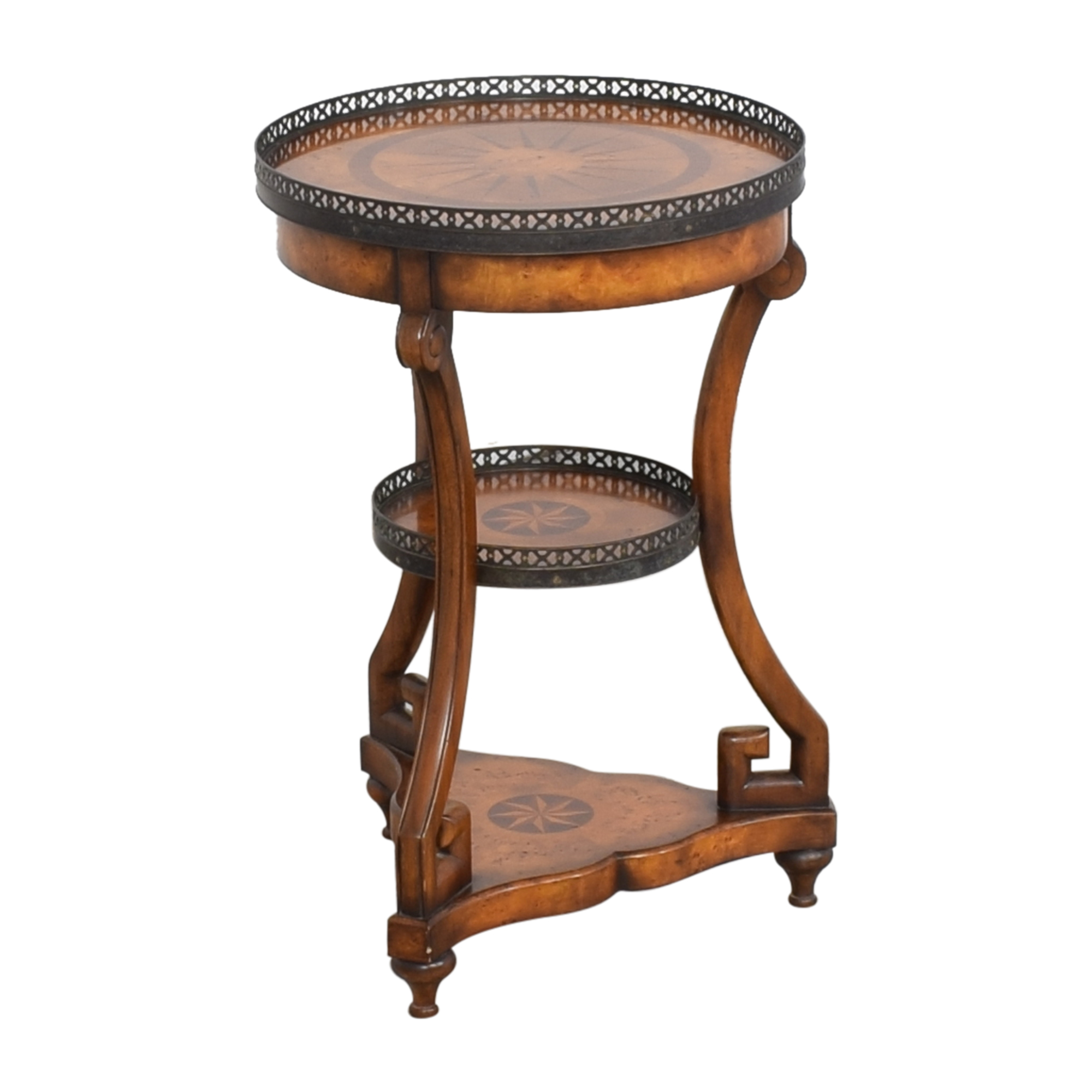 Theodore Alexander Theodore Alexander Three Tier End Table discount