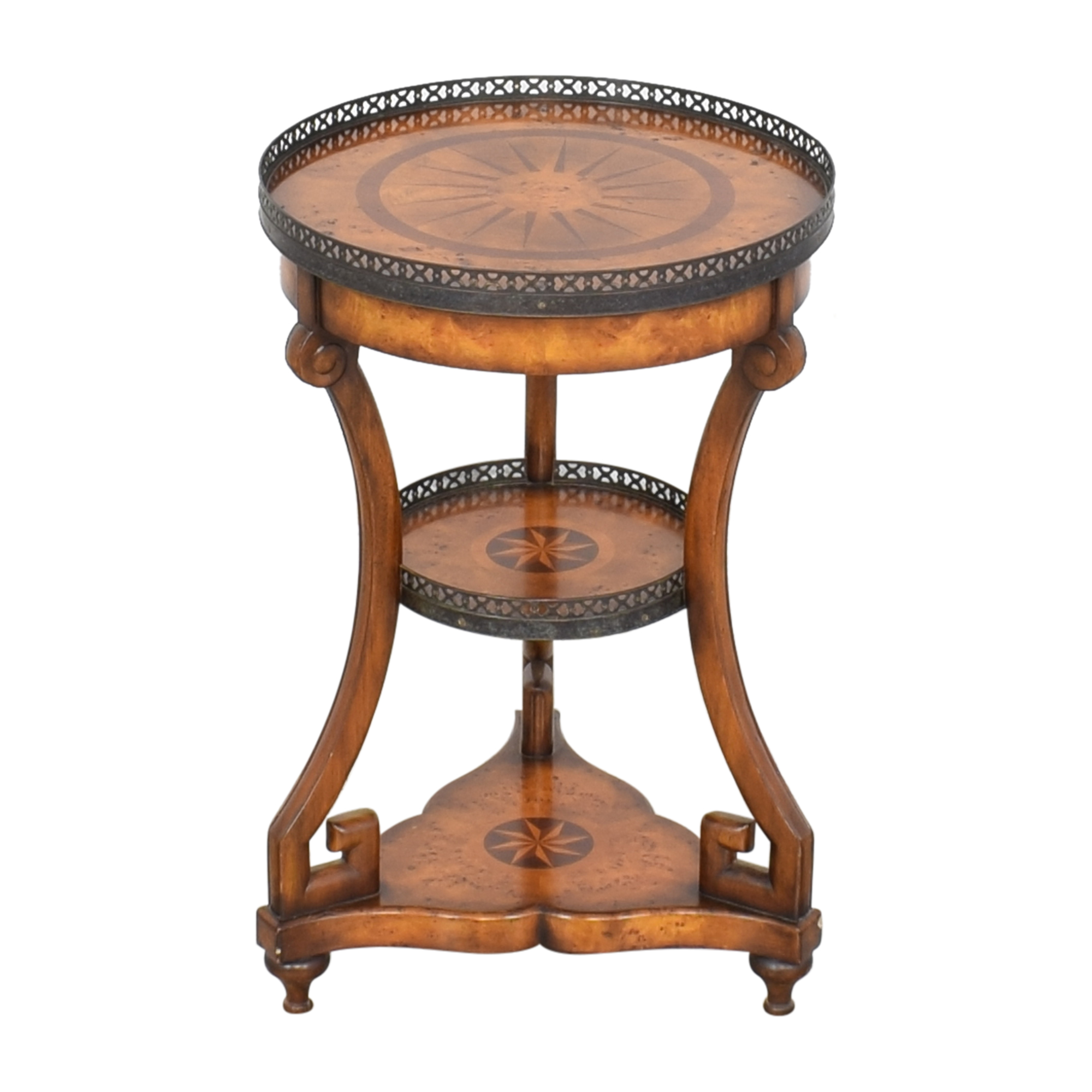 Theodore Alexander Three Tier End Table / Accent Tables
