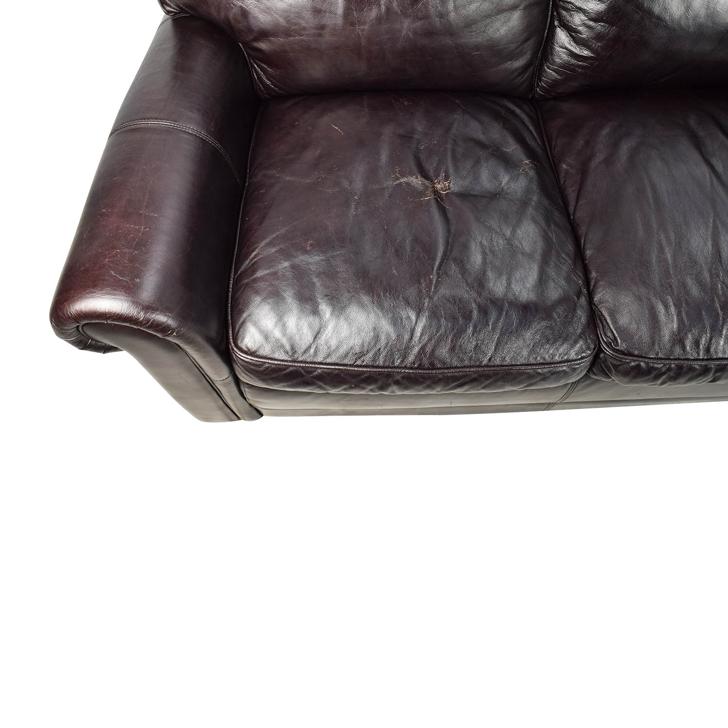 82 Off Bob S Furniture Bob S Furniture Leather Dark