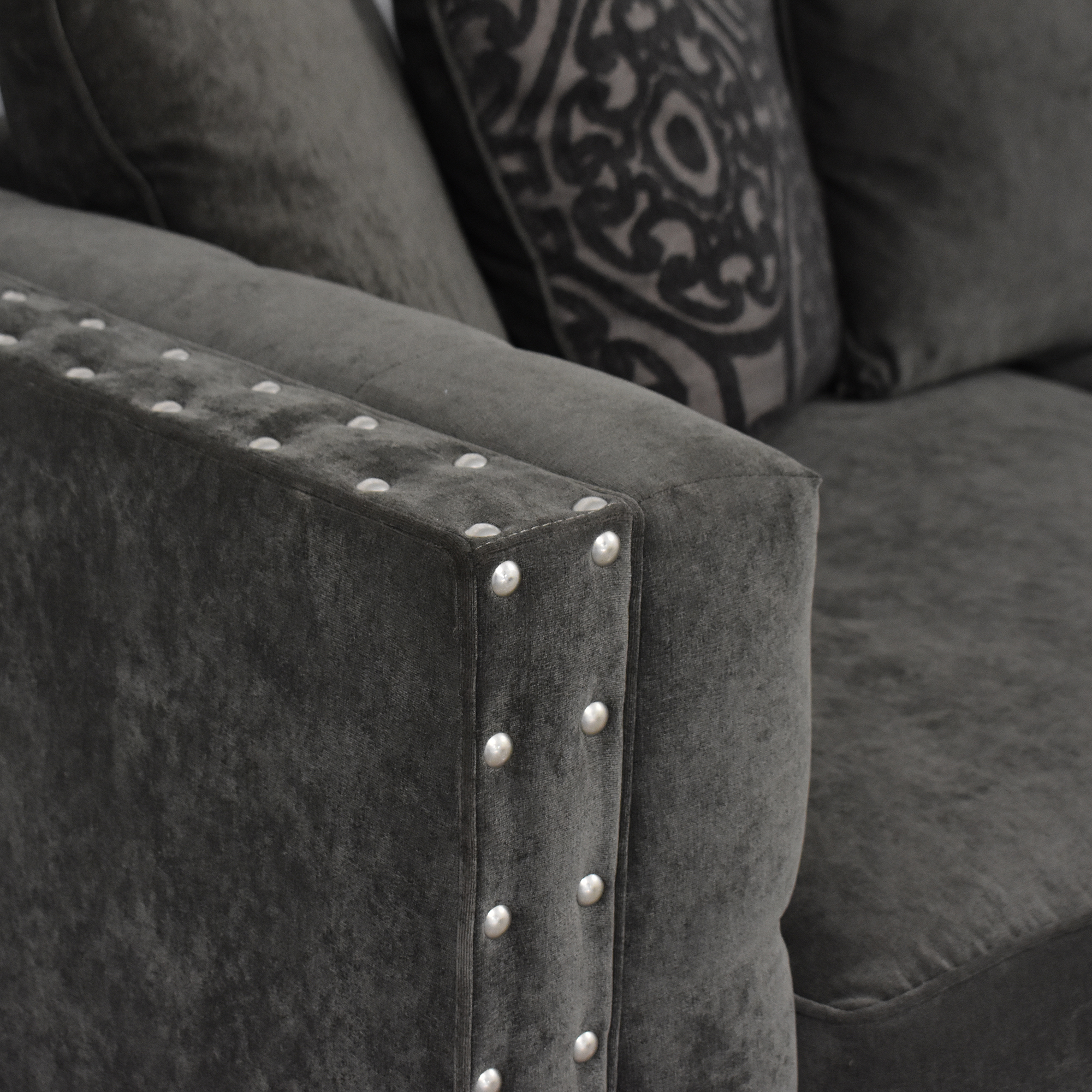 Cindy Crawford Home Cindy Crawford Calista Microfiber Sofa ct