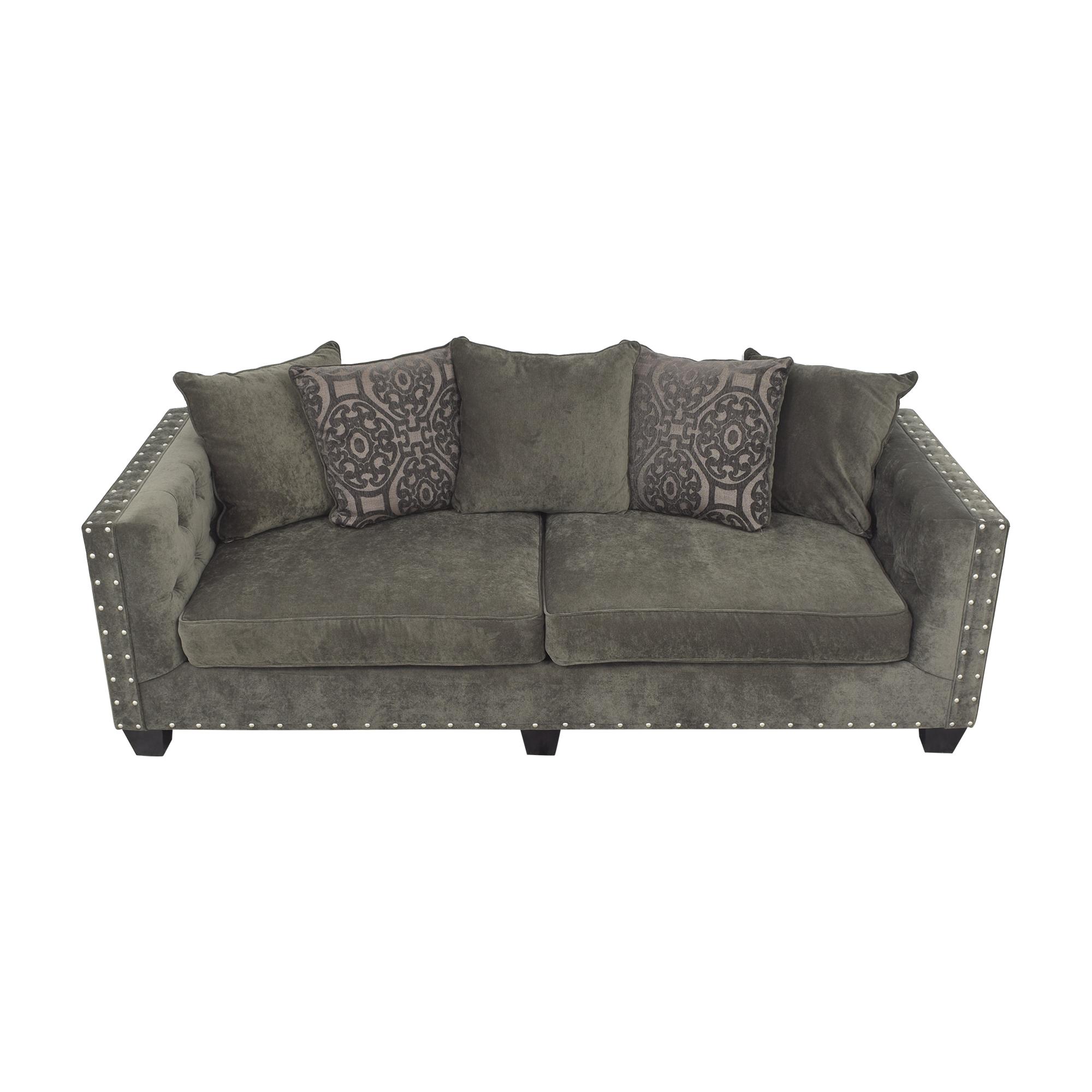 Cindy Crawford Home Cindy Crawford Calista Microfiber Sofa pa