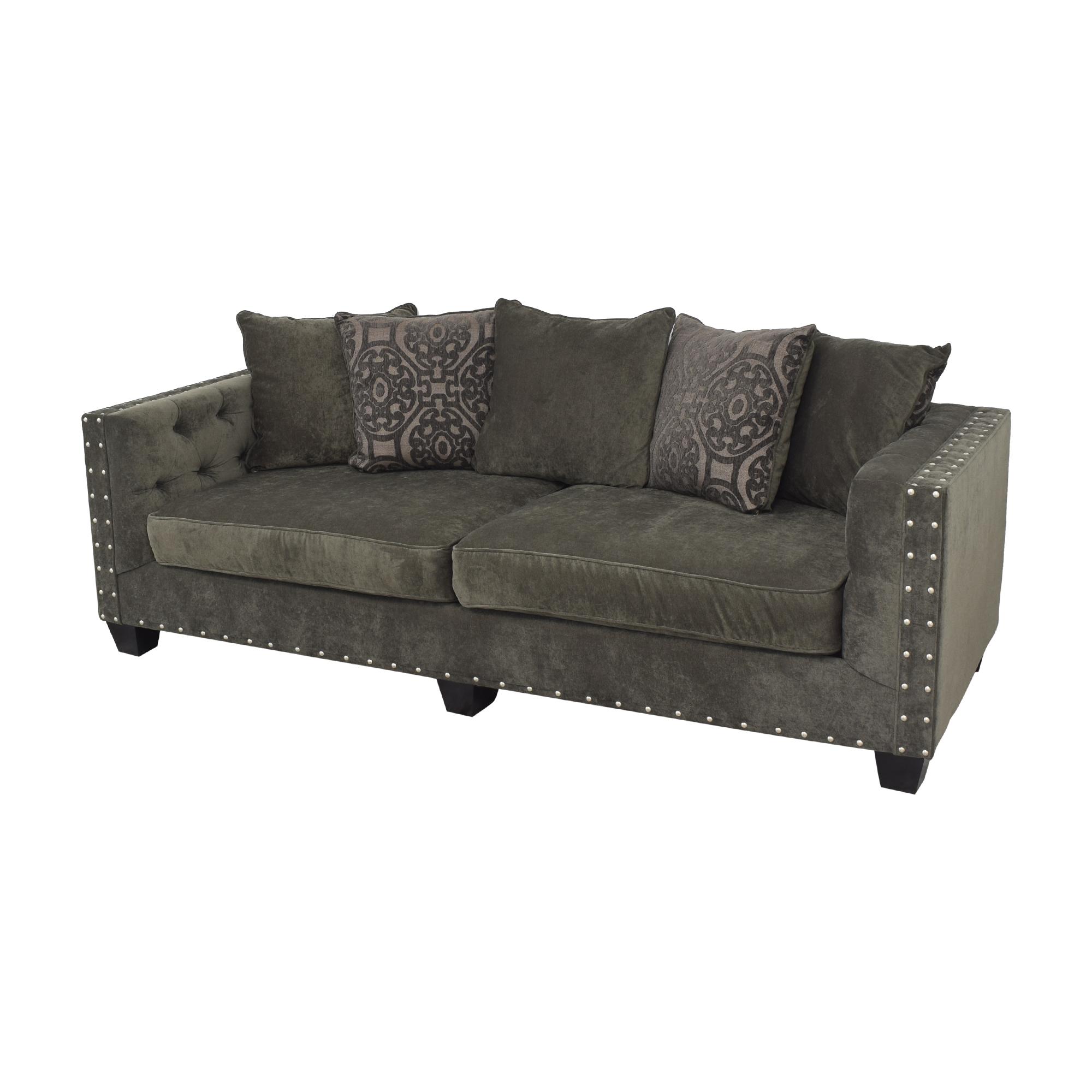 shop Cindy Crawford Home Cindy Crawford Calista Microfiber Sofa online