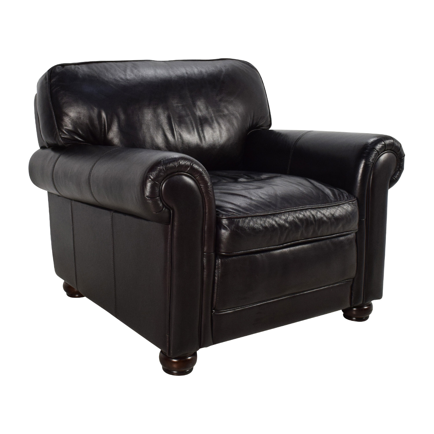 74% OFF Bobs Furniture Bob s Furniture Leather Dark