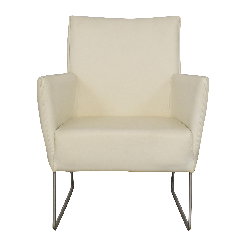 White Modern Arm Chair discount