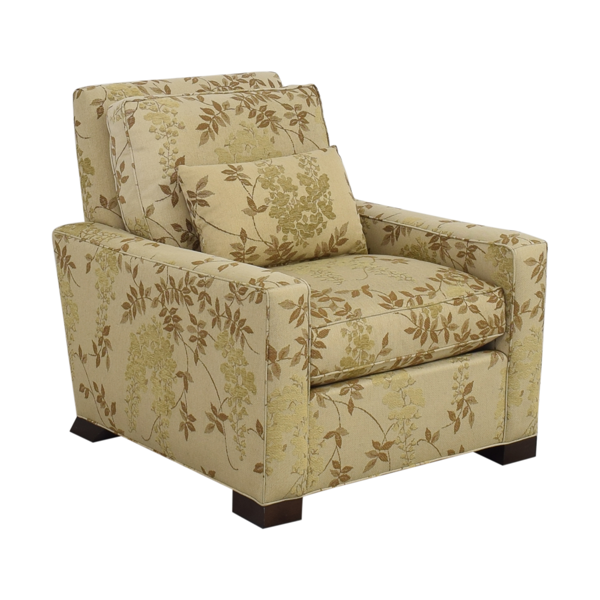 Hickory Chair Hickory Chair Upholstered Club Chair beige, brown