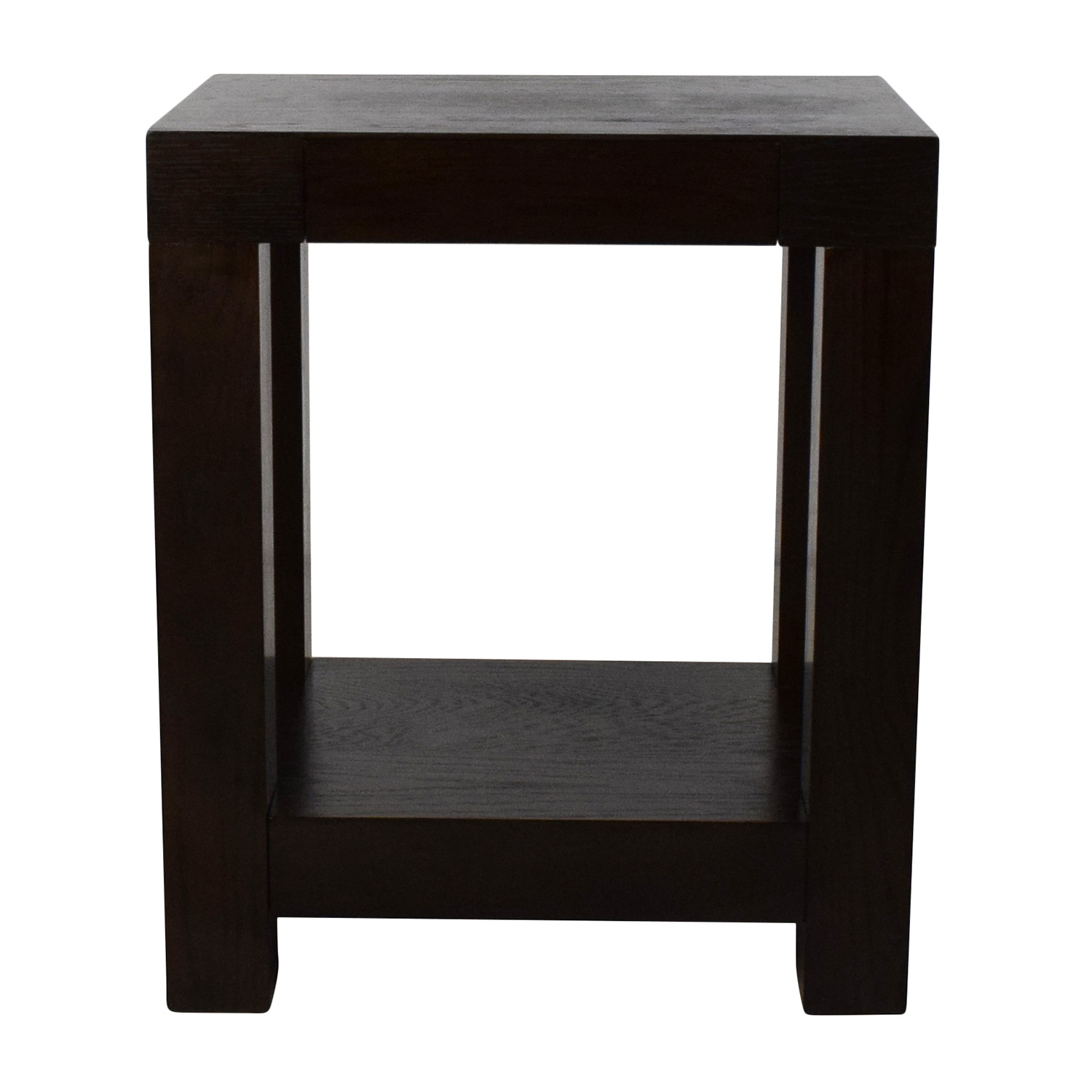 76 Off West Elm West Elm Parsons End Table Tables