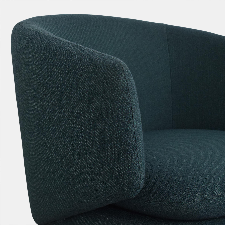 buy West Elm Crescent Swivel Chair West Elm Chairs