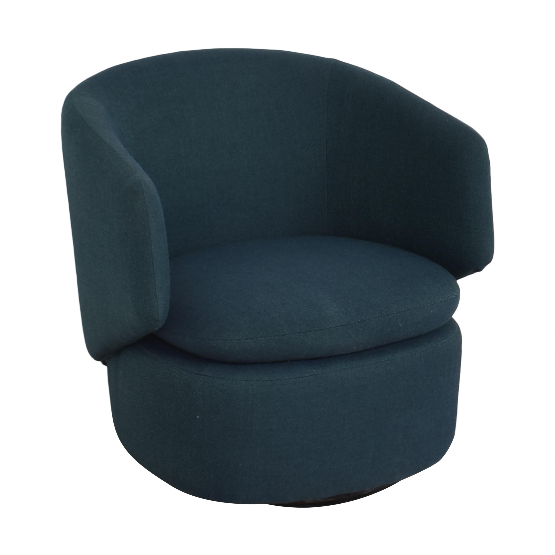 West Elm West Elm Crescent Swivel Chair