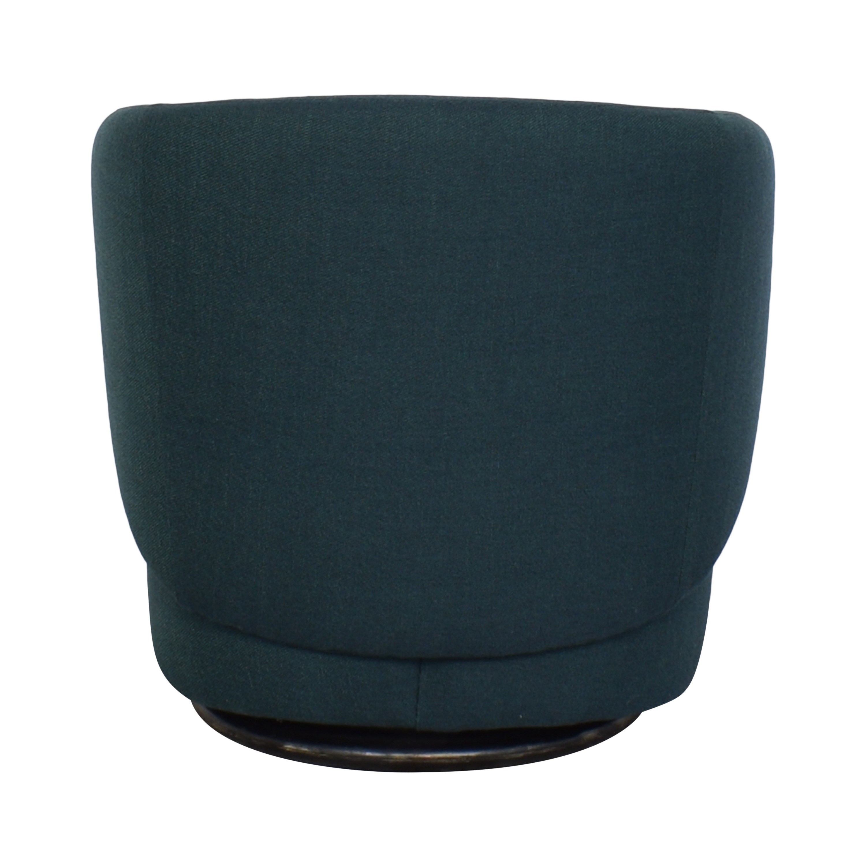 West Elm West Elm Crescent Swivel Chair used