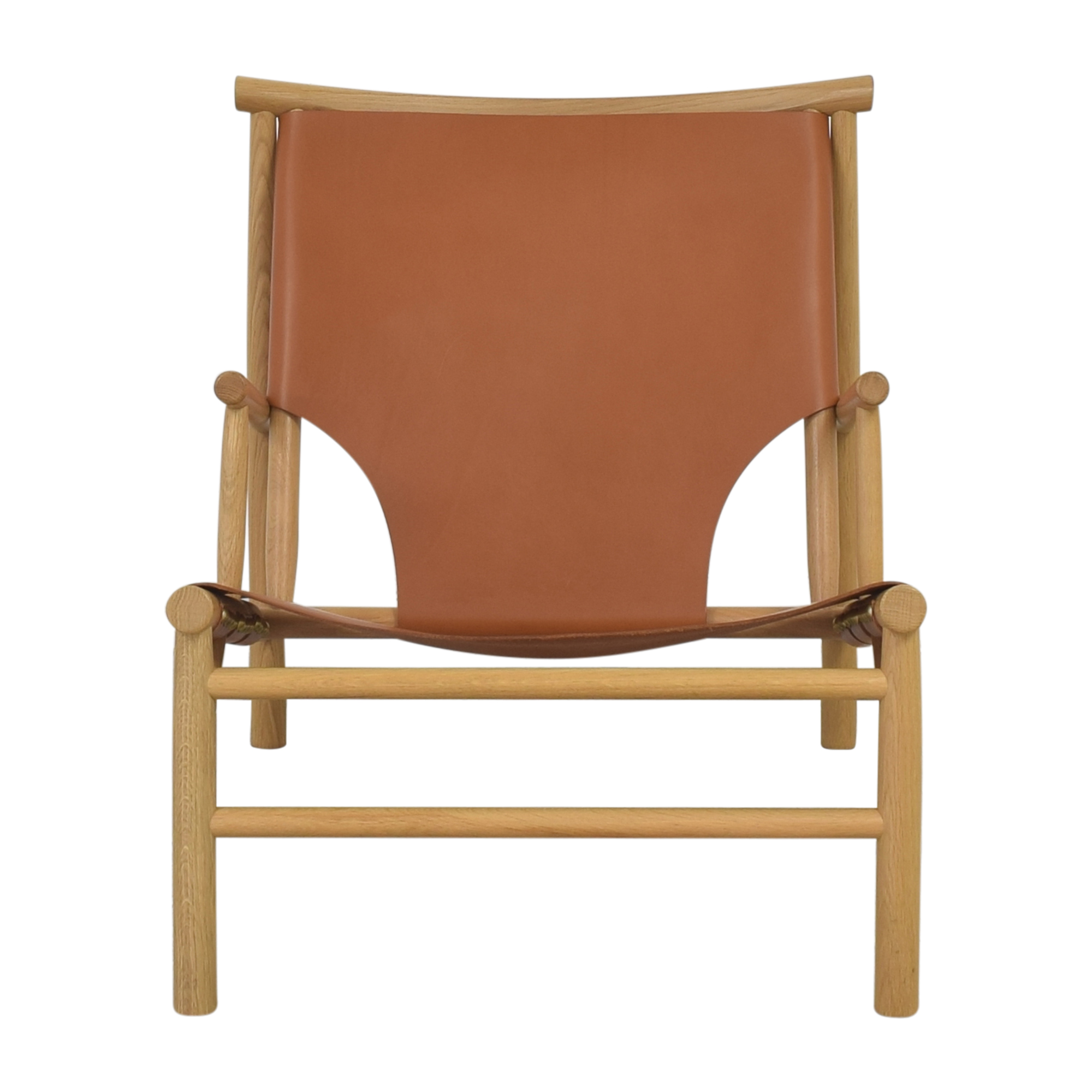 NORR11 NORR11 Samurai Lounge Chair natural and brown