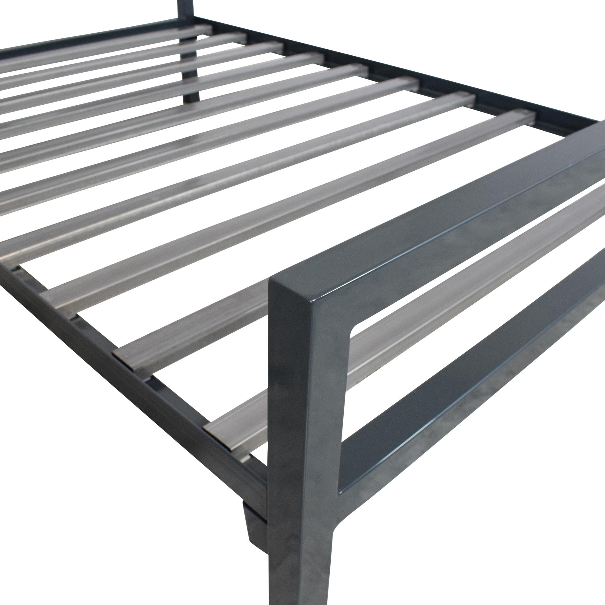 shop Room & Board Parsons Full Bed in Slate Room & Board Beds