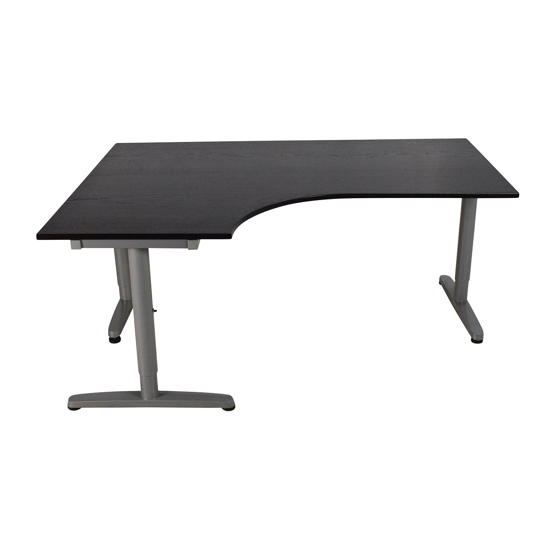 Ikea Galant Hoekbureau.68 Off Ikea Ikea Galant Corner Desk Tables
