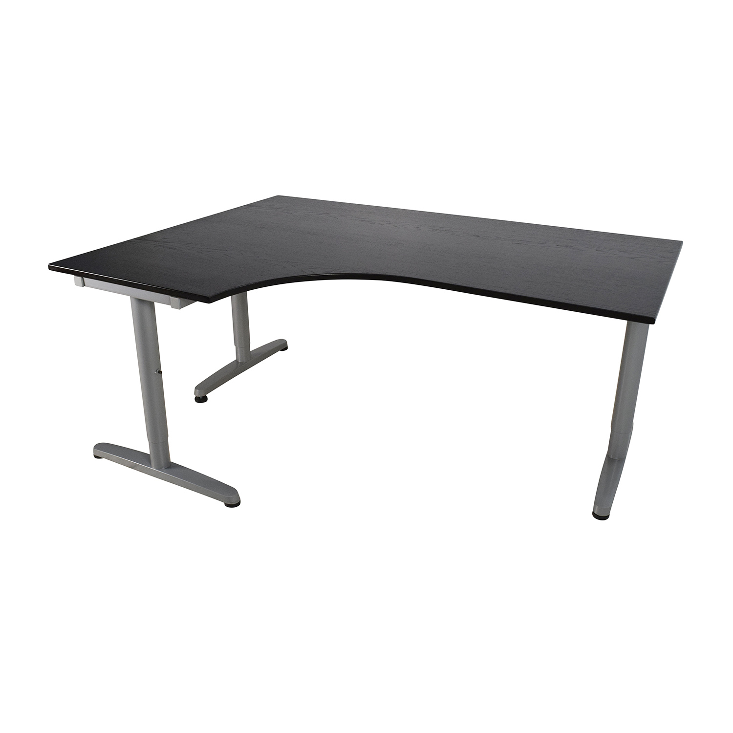 ikea galant corner desk black hostgarcia. Black Bedroom Furniture Sets. Home Design Ideas