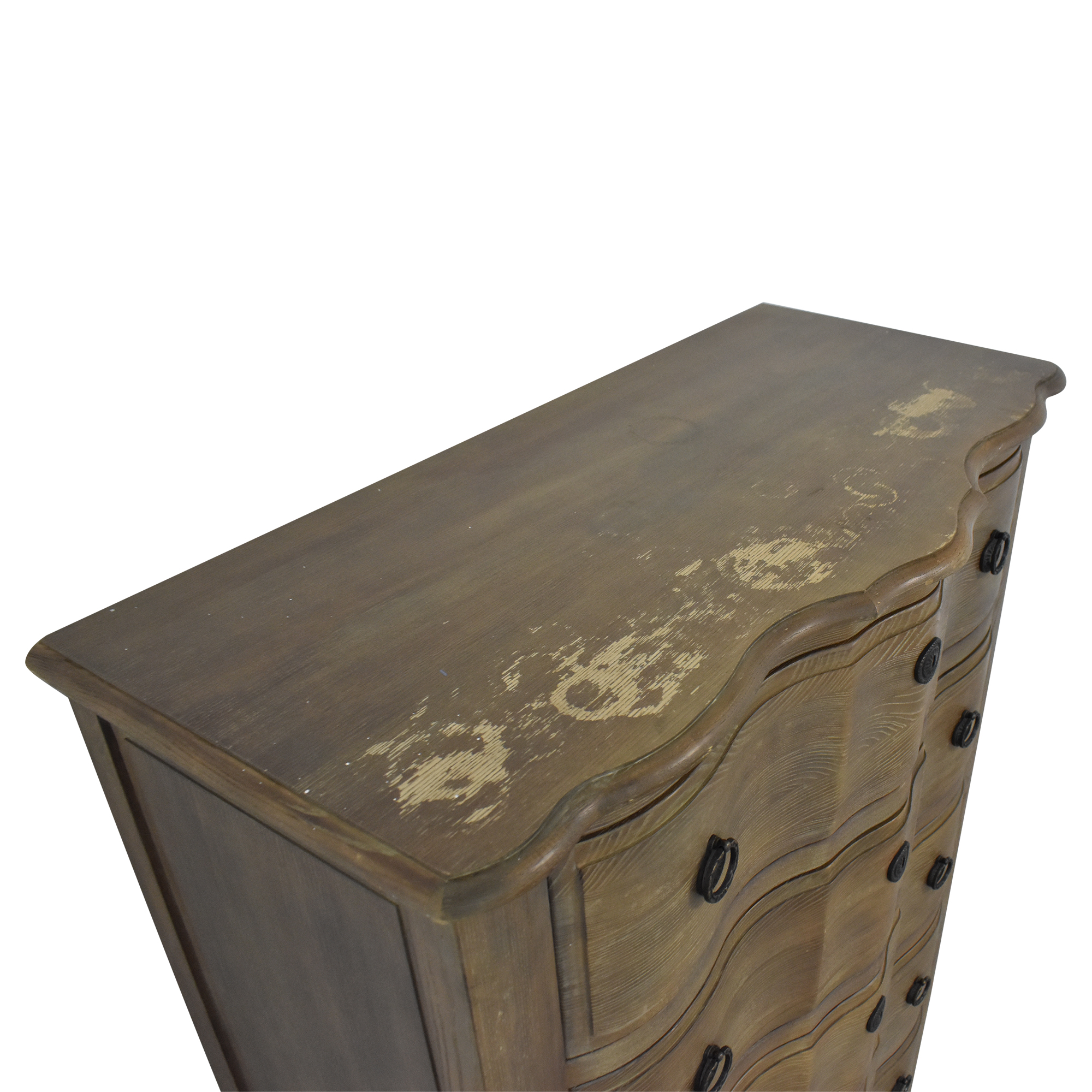 Schnadig Home Collection Rustic Chest of Drawers Schnadig
