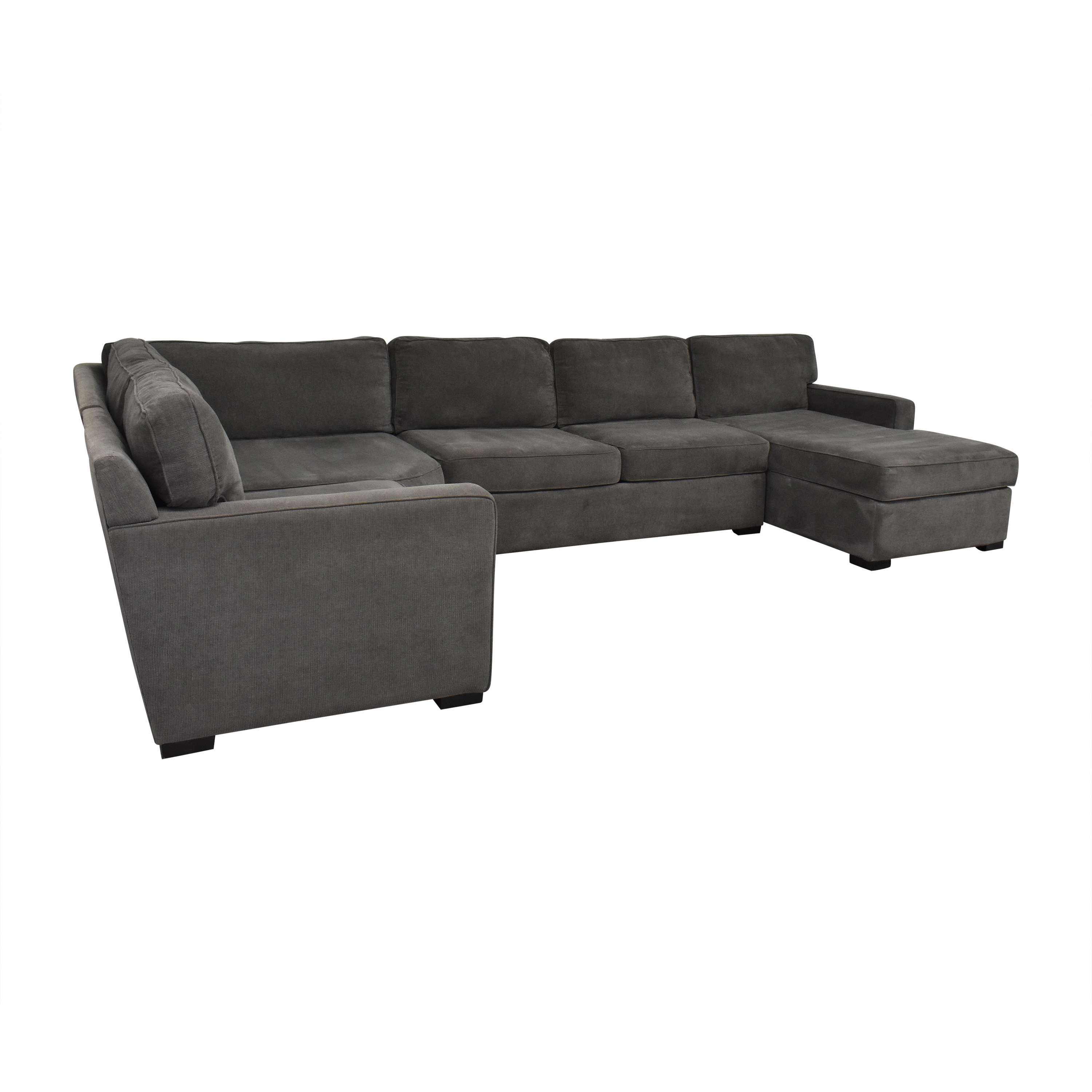 Macy's Macy's Radley Sectional Sofa with Chaise on sale